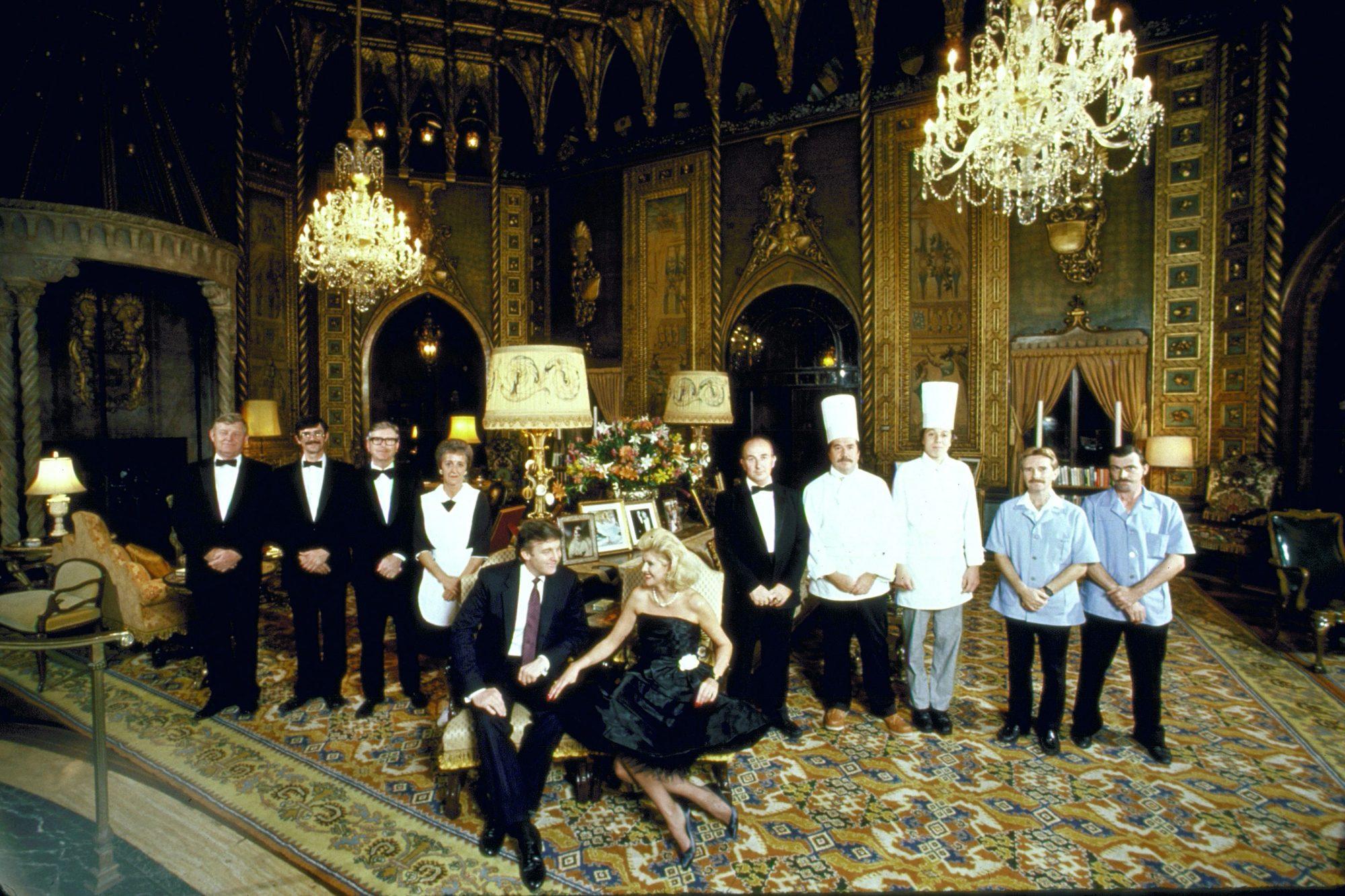Donald J. Trump [& Wife];Mrs. Donald J. Trump