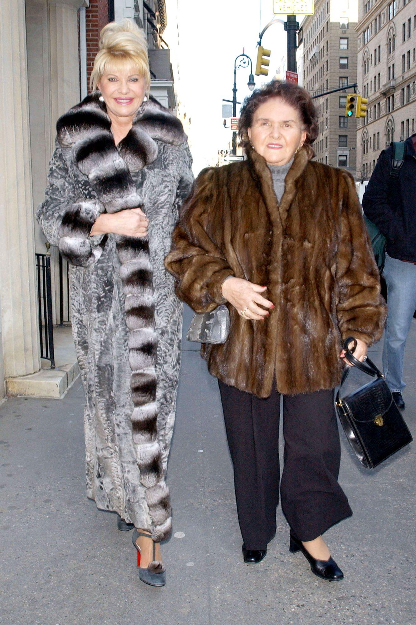 Ivana Trump Shops In New York City