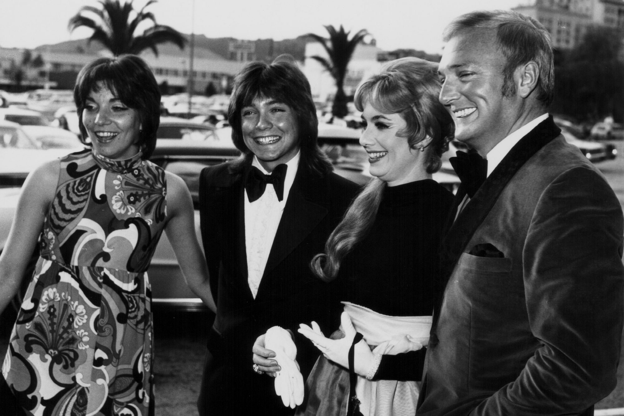 David Cassidy And His Family
