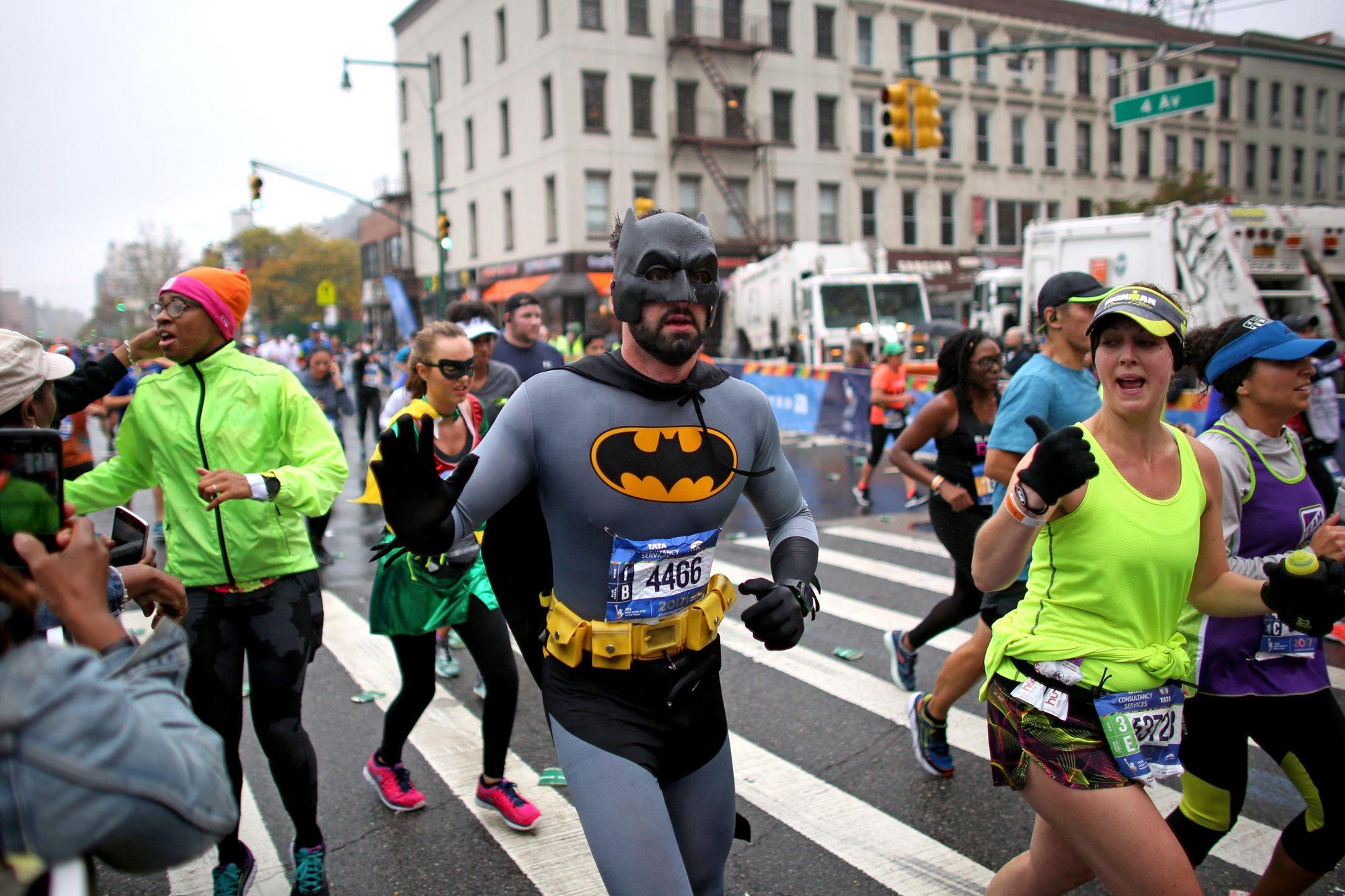 New York City Marathon in New York