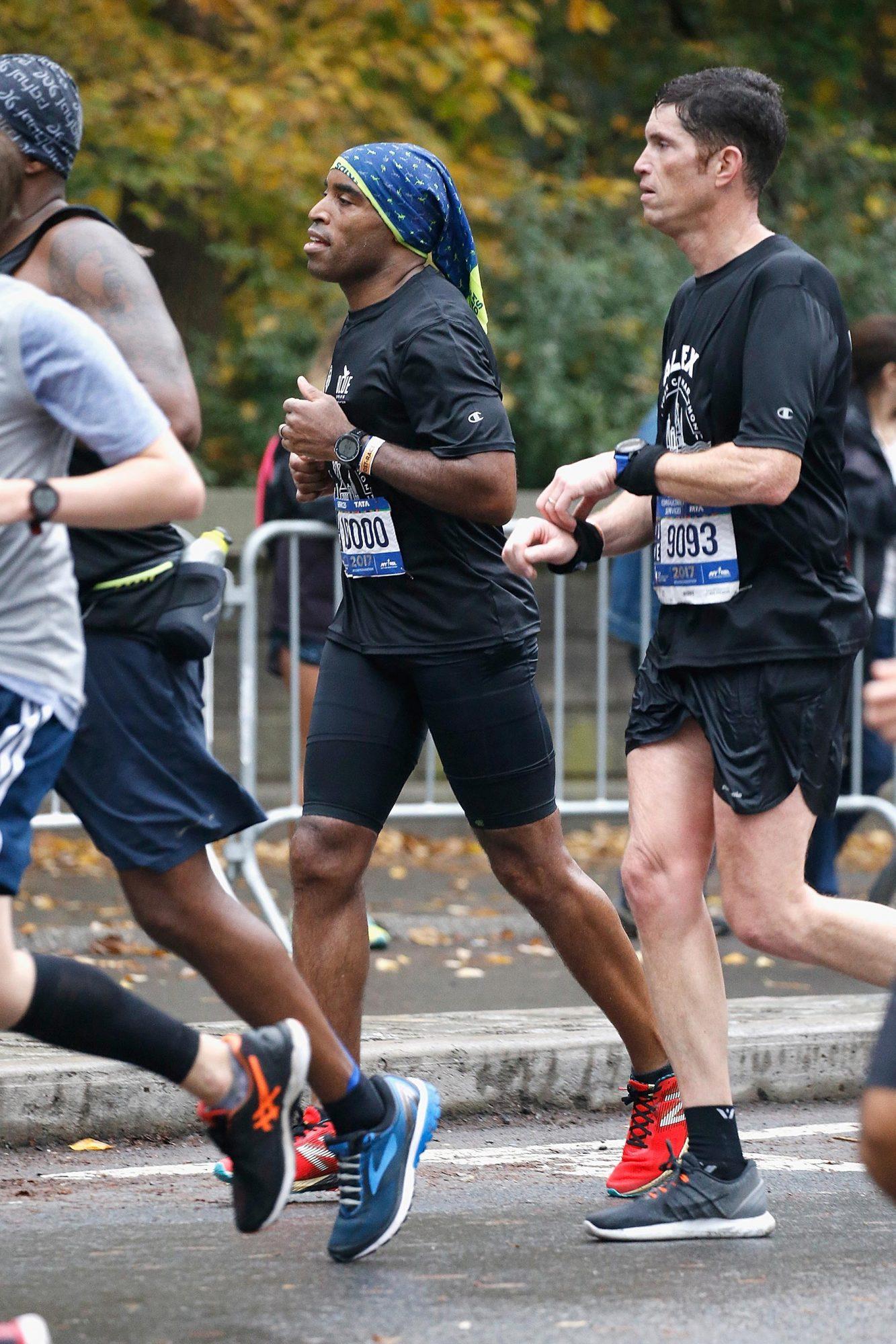 Celebrities Run The 2017 TCS New York City Marathon