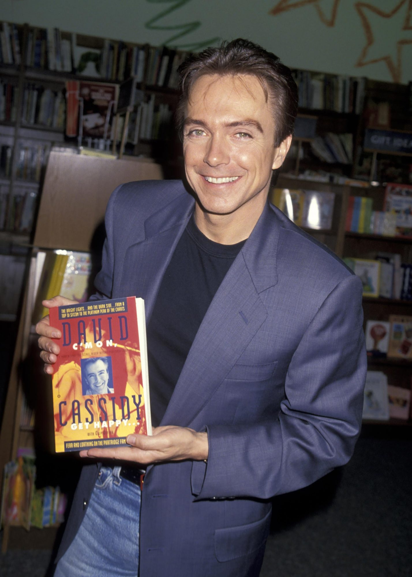 """David Cassidy In Store Appearance To Promote New Book """"C'mon Get Happy"""""""