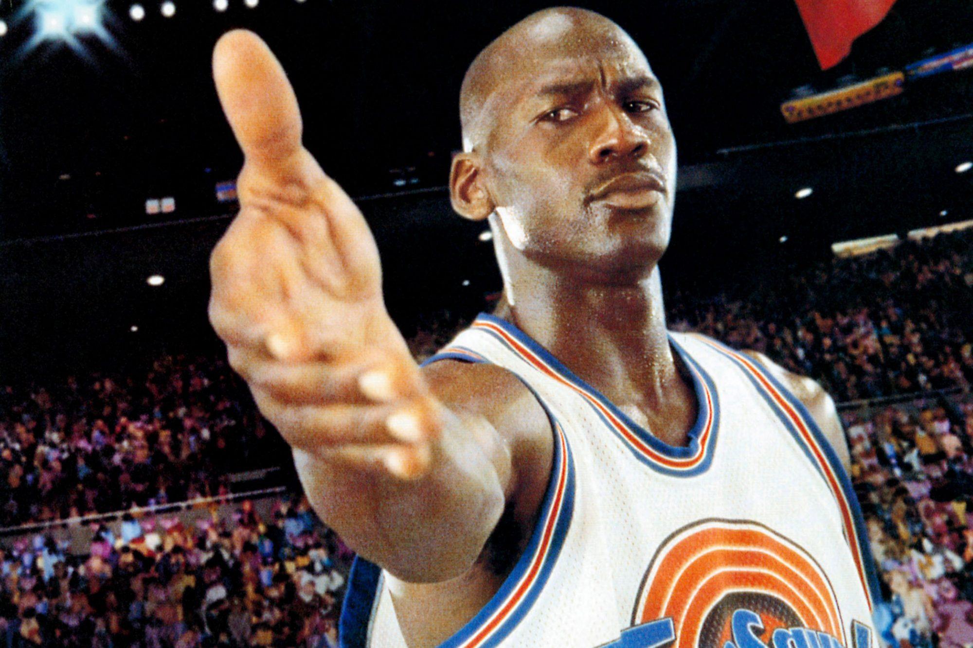 SPACE JAM, Michael Jordan, 1996, © Warner Brothers/courtesy Everett Collection