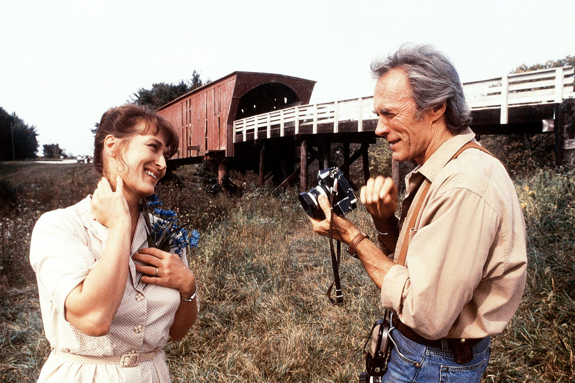 THE BRIDGES OF MADISON COUNTY, from left: Meryl Streep, Clint Eastwood, 1995. ©Warner Brothers/court