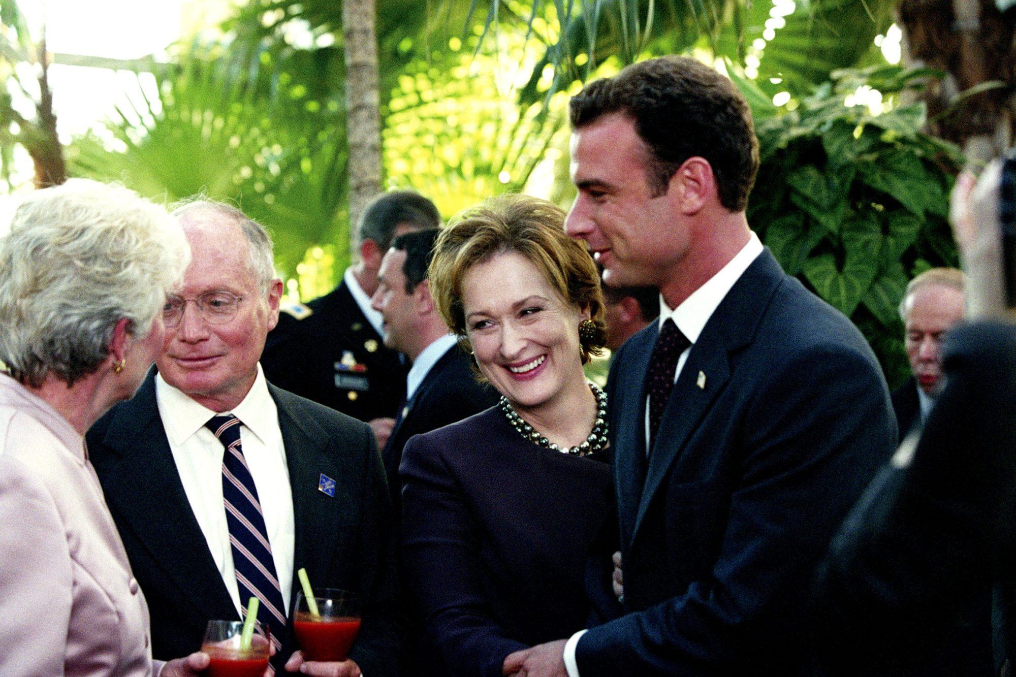 THE MANCHURIAN CANDIDATE, Meryl Streep, Liev Schreiber, 2004, (c) Paramount/courtesy Everett Collect
