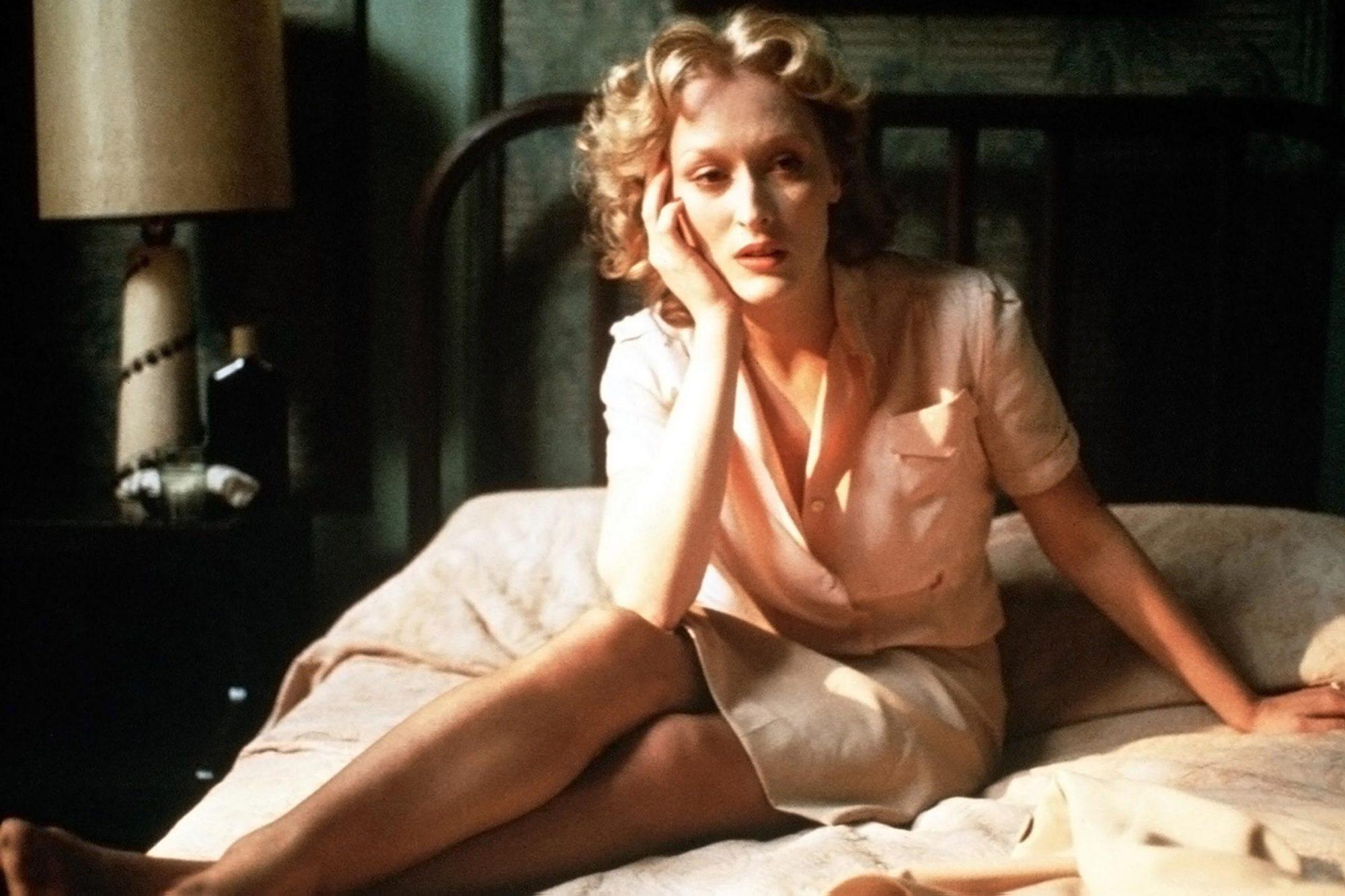 SOPHIE'S CHOICE, Meryl Streep, 1982, ©Universal/courtesy Everett Collection
