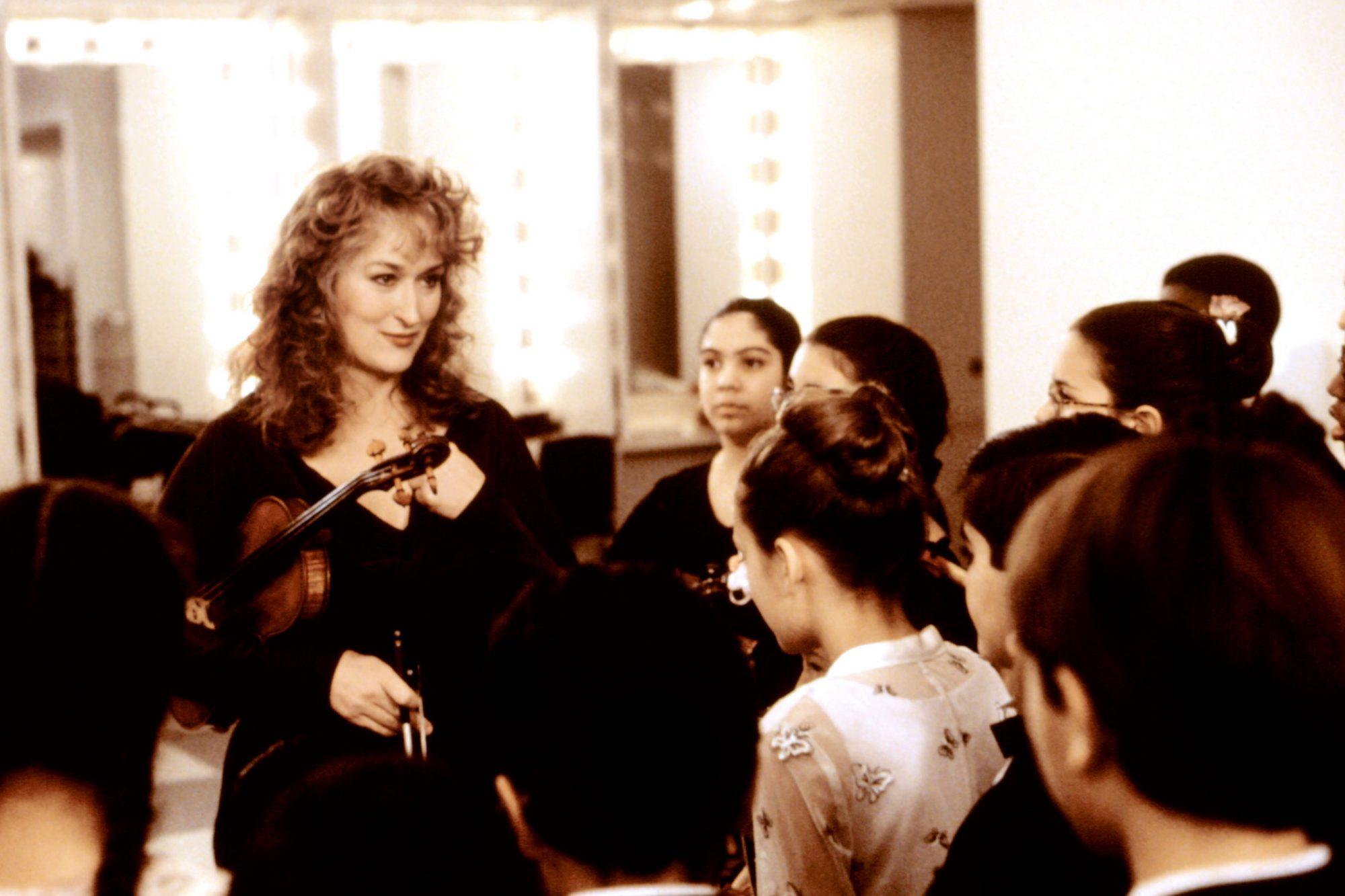 MUSIC OF THE HEART, Meryl Streep, 1999