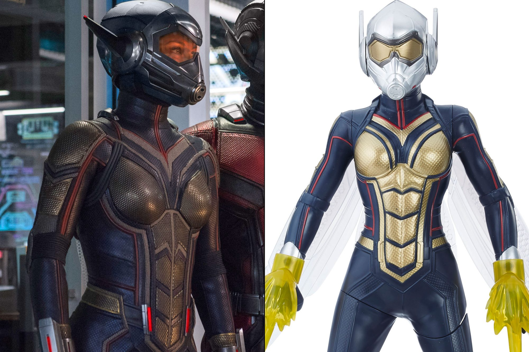 Hasbro's Ant-Man and the Wasp toy line