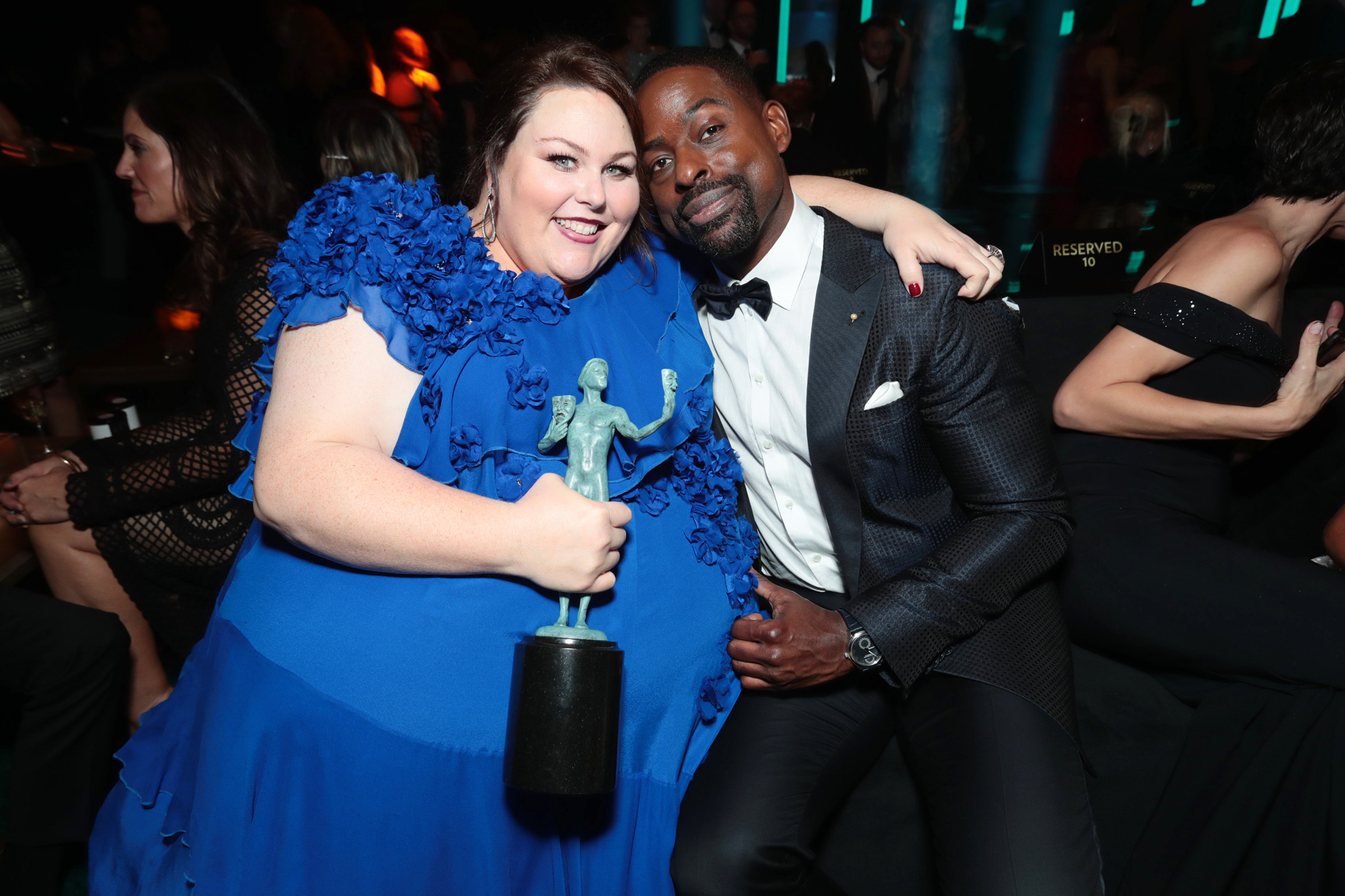 People and EIF's Annual Screen Actors Guild Awards Gala sponsored by TNT at the Shrine Auditorium, Los Angeles, CA, USA - 21 January 2018