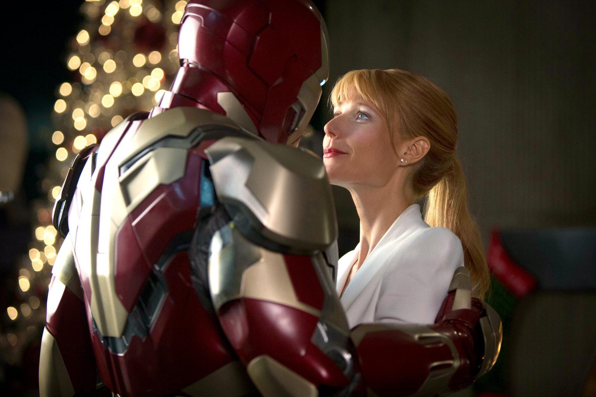 Iron Man 3 (2013)Tony Stark / Iron Man (Robert Downey Jr.) and Gwyneth Paltrow