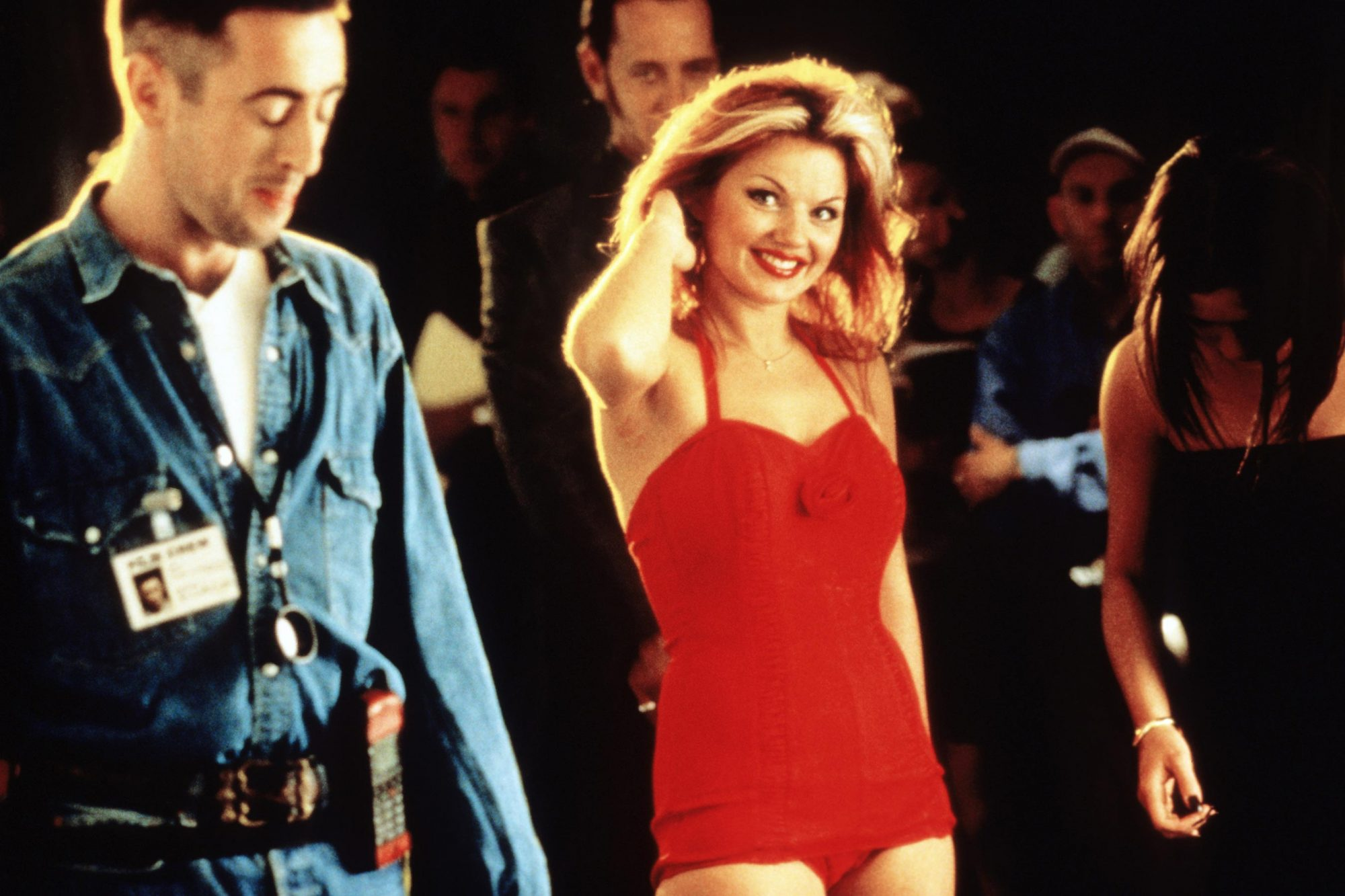 SPICE WORLD, from left: Alan Cumming, Geri Halliwell, 1997, © Columbia/courtesy Everett Collection