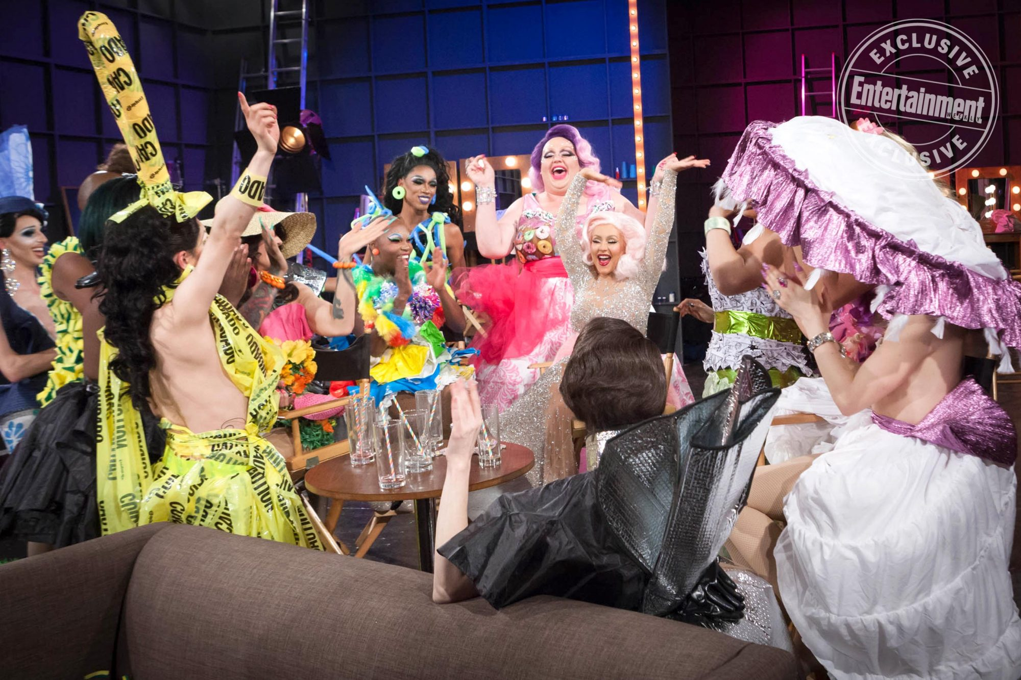The cast captured lightning (laced with sequins) in a bottle...