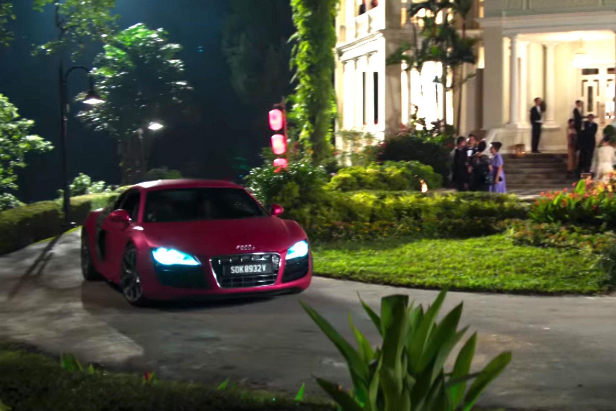 Peik Lin's 2018 R8 Audi Spyder: $175,000