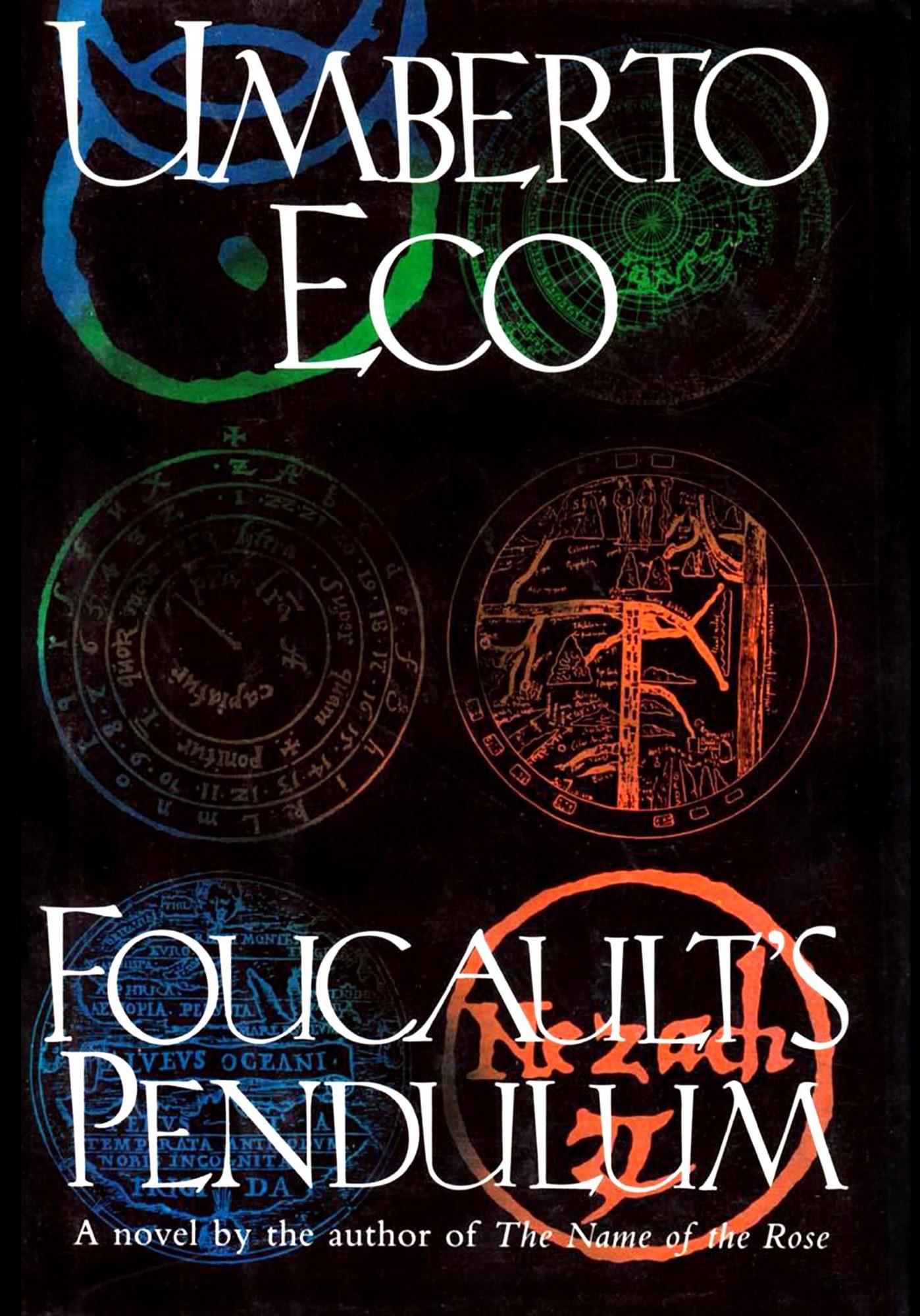 Foucault's Pendulum by Umberto Eco CR: Harcourt Brace Jovanovich