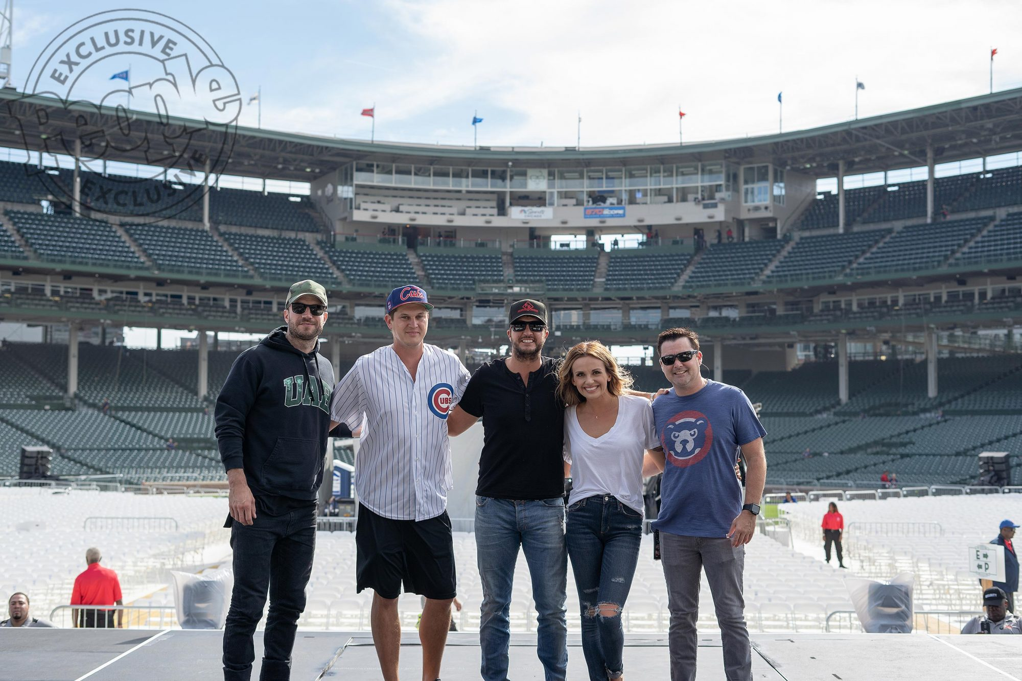 SAM HUNT, JON PARDI, LUKE BRYAN, CARLY PEARCE and DJ ROCK