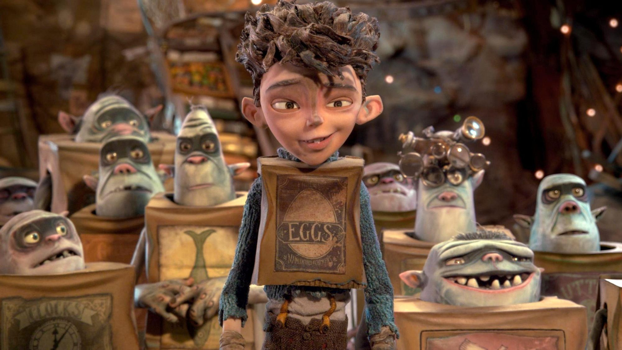 THE BOXTROLLS (2014)Eggs (center) is the main character.