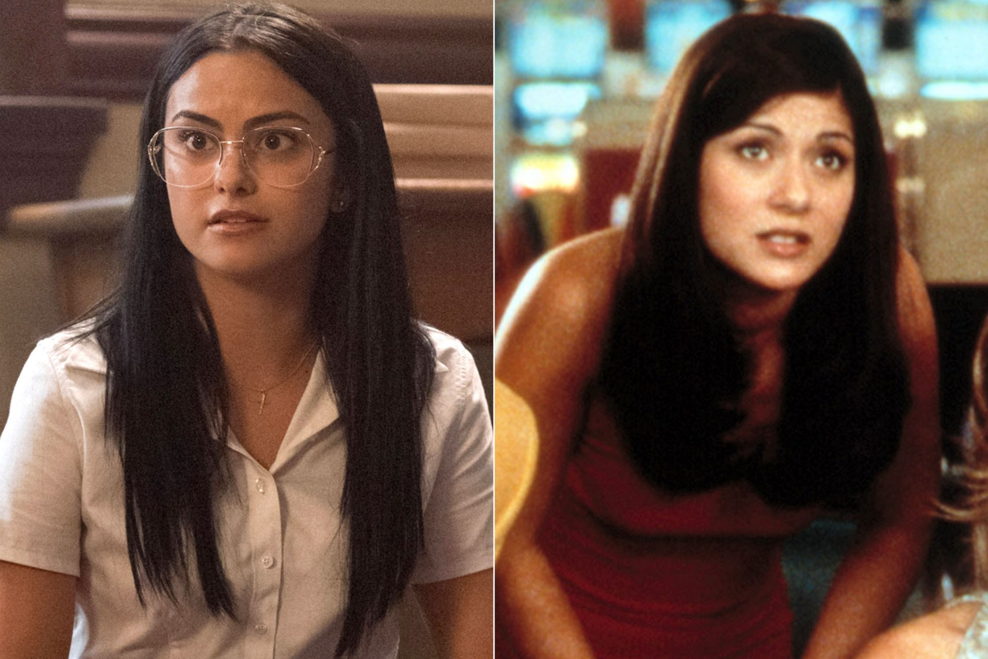 Camila Mendes as Hermione Lodge vs. Marisol Nichols in Vegas Vacation