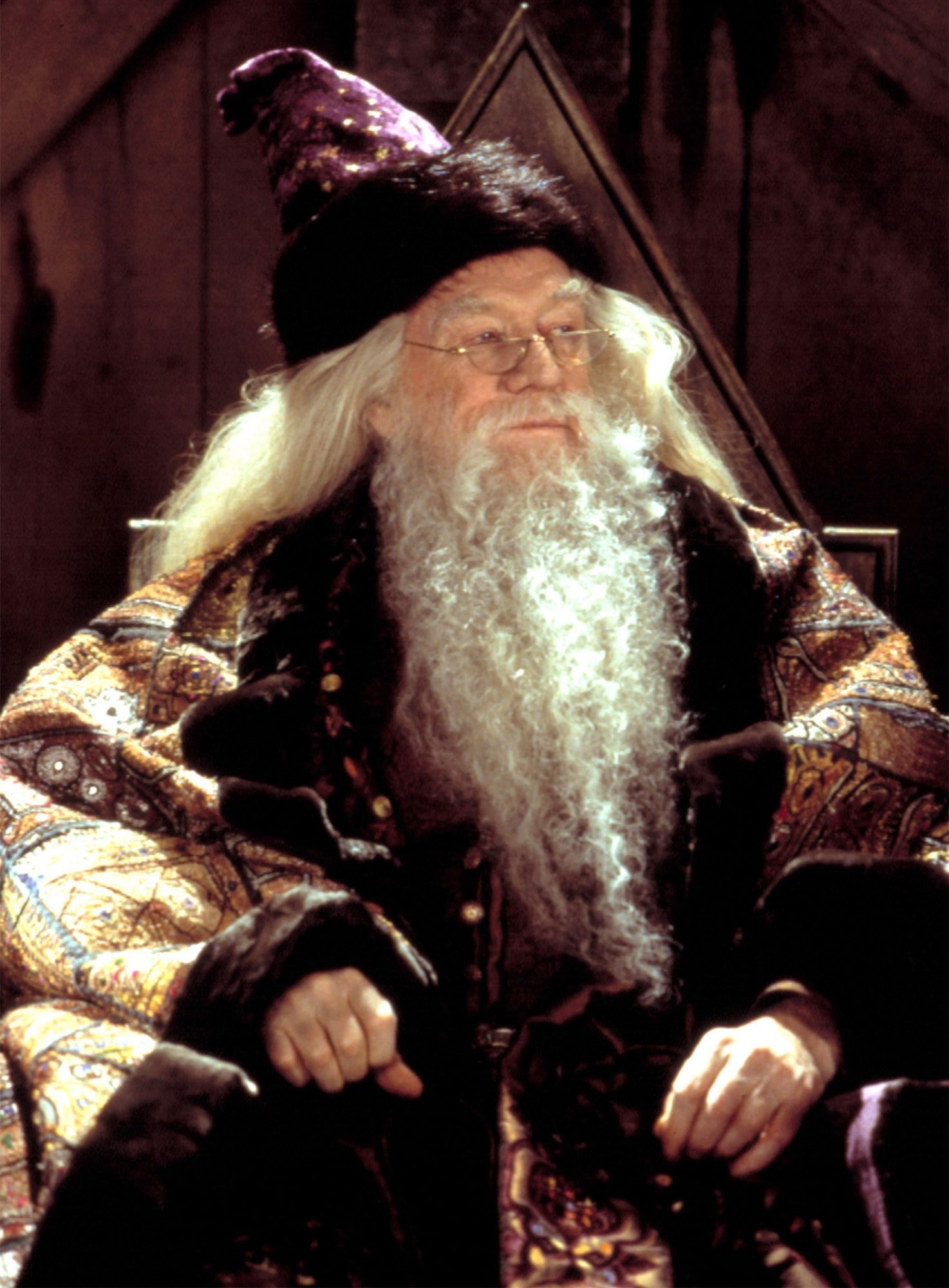 HARRY POTTER AND THE CHAMBER OF SECRETS, Richard Harris, 2002, (c) Warner Brothers/courtesy Everett