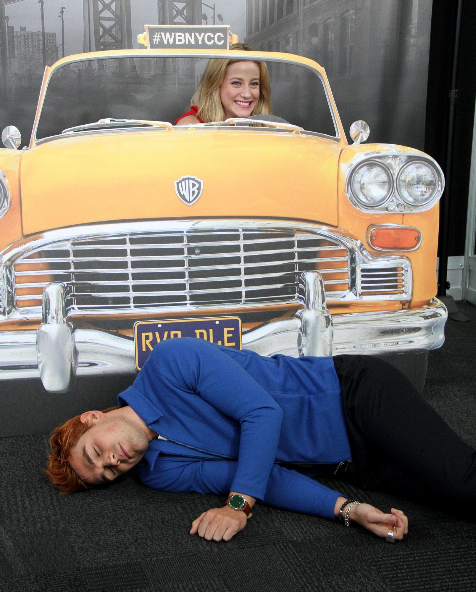 'Riverdale' TV show panel, New York Comic Con, USA - 07 Oct 2018