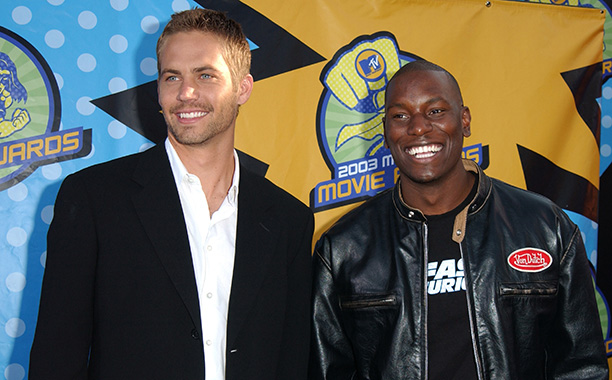 Paul Walker With Tyrese at the 2003 MTV Movie Awards on May 31, 2003
