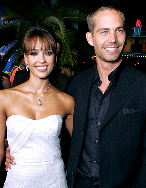 Paul Walker With Jessica Alba at the Into the Blue Premiere on September 21, 2005