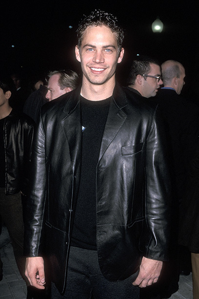 Paul Walker at the Varsity Blues Hollywood Premiere on January 7, 1999