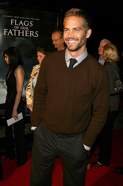 Paul Walker at the Premiere of Flags Of Our Fathers in Beverly Hills on October 9, 2006