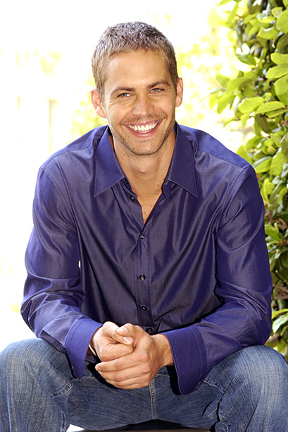 Paul Walker at a 2 Fast 2 Furious Press Conference on May 19, 2003