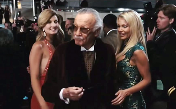 Man Mistaken for Hugh Hefner in Iron Man (2008)
