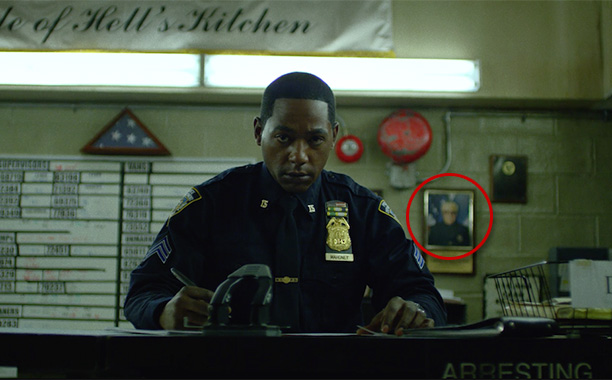 Police Officer in Framed Photo in Marvel's Daredevil (2015)