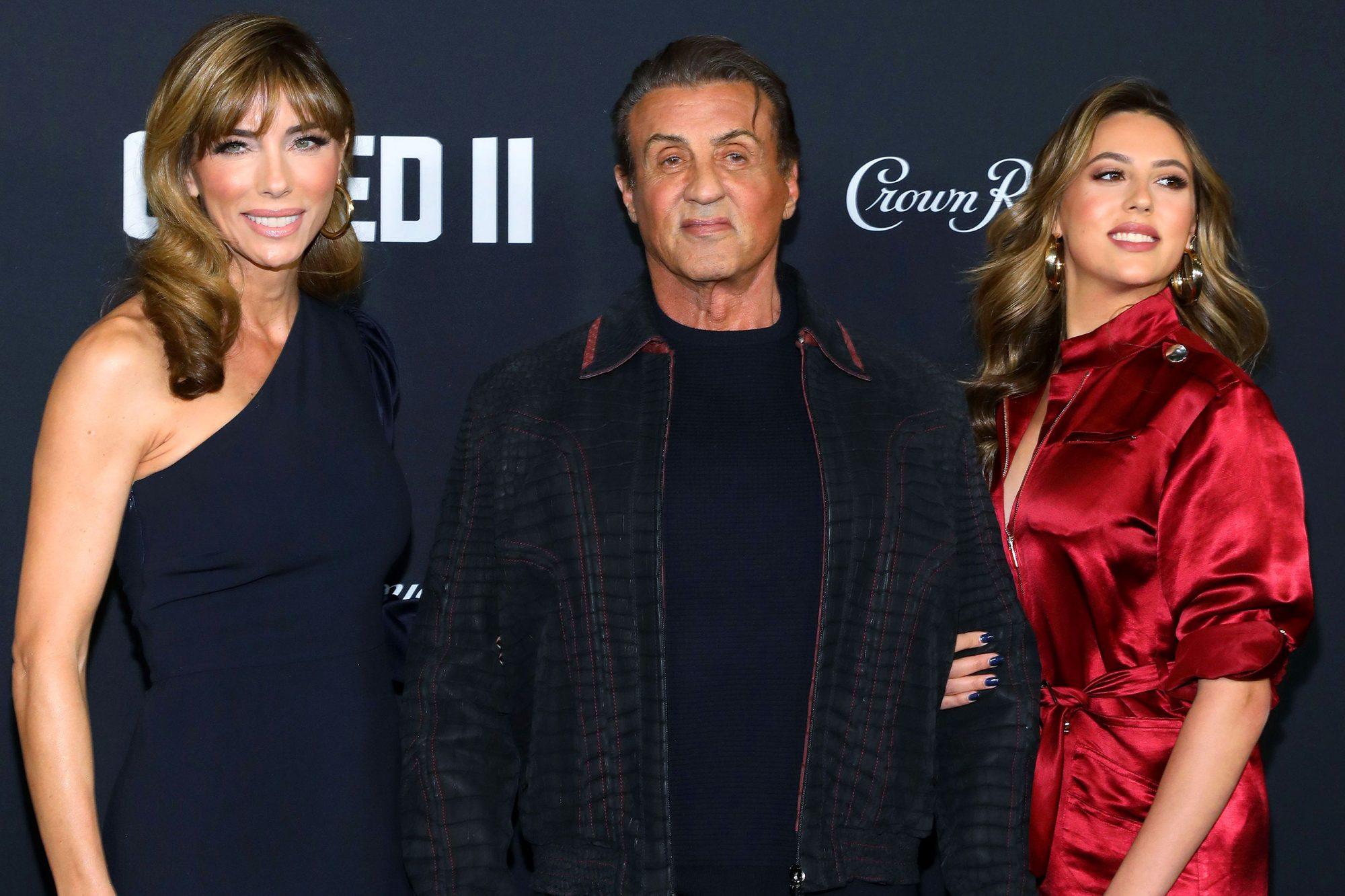 'Creed II' film premiere, Arrivals, New York, USA - 14 Nov 2018