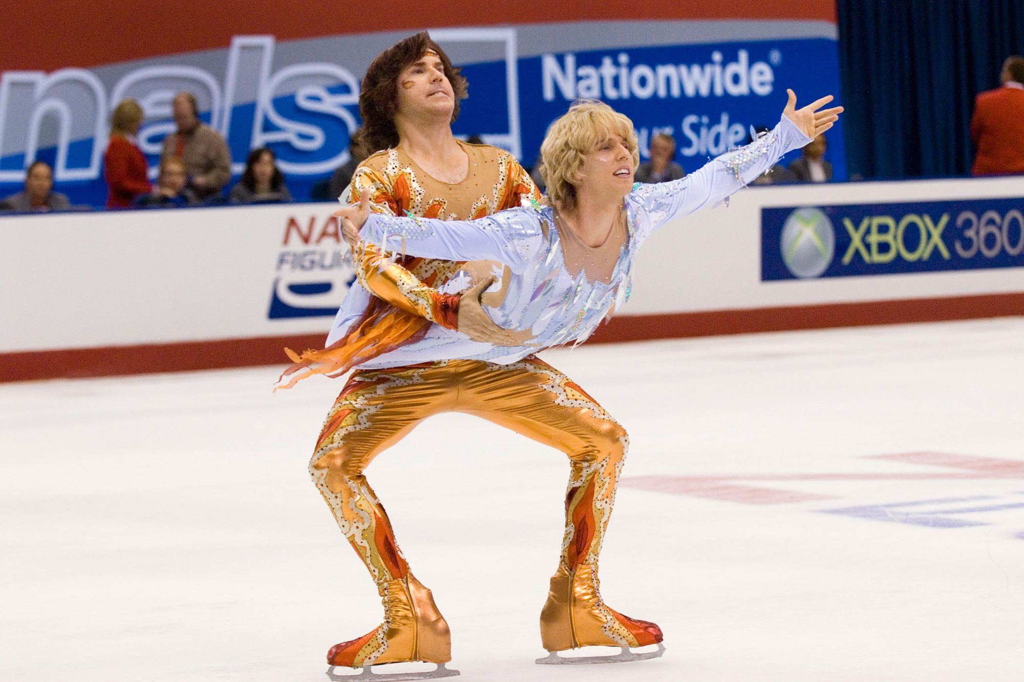 BLADES OF GLORY (2007)WILL FERRELL (L) and JON HEDER
