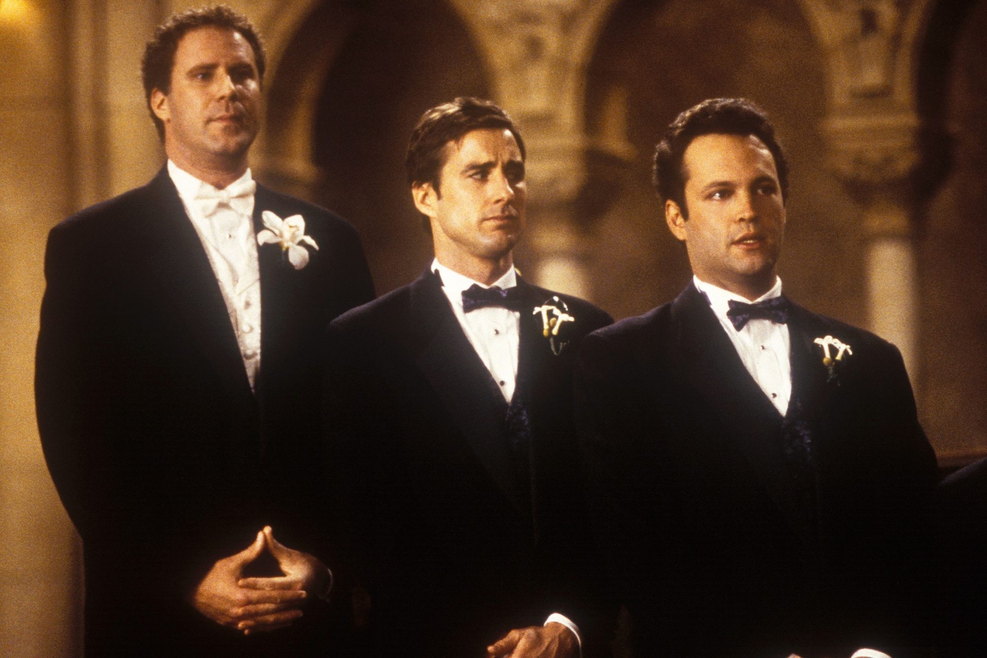 Old School (2003)l to R: Will Ferrell, Luke Wilson and Vince Vaughn