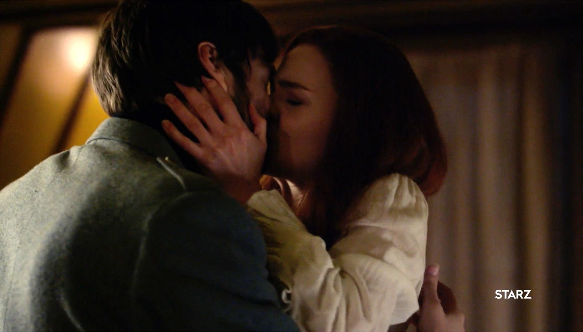 Roger and Bree reunite, Outlander