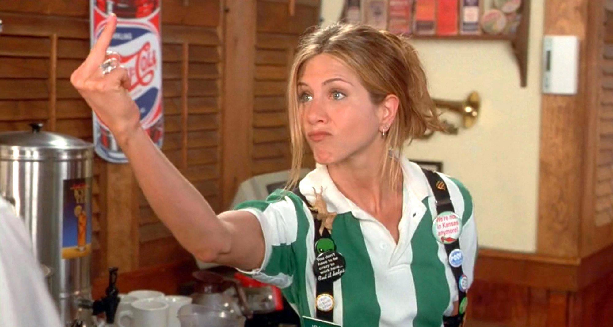 Office Space (1999)Jennifer Aniston as Joanna