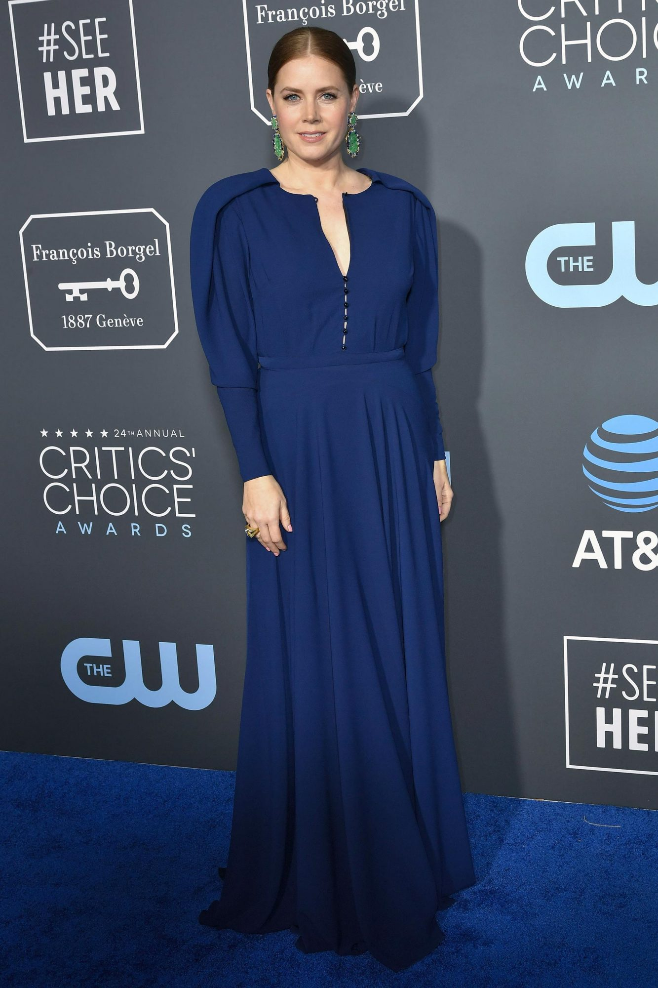 24th Annual Critics' Choice Awards, Arrivals, Barker Hanger, Los Angeles, USA - 13 Jan 2019