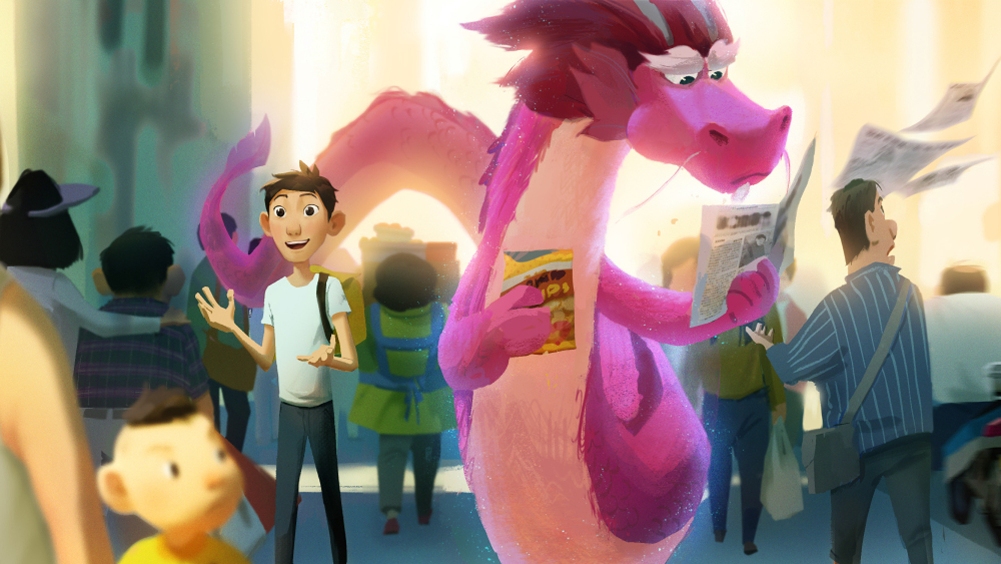 Wish Dragon (2019)Titles: Wish Dragon© Sony pictures animation and Base FX