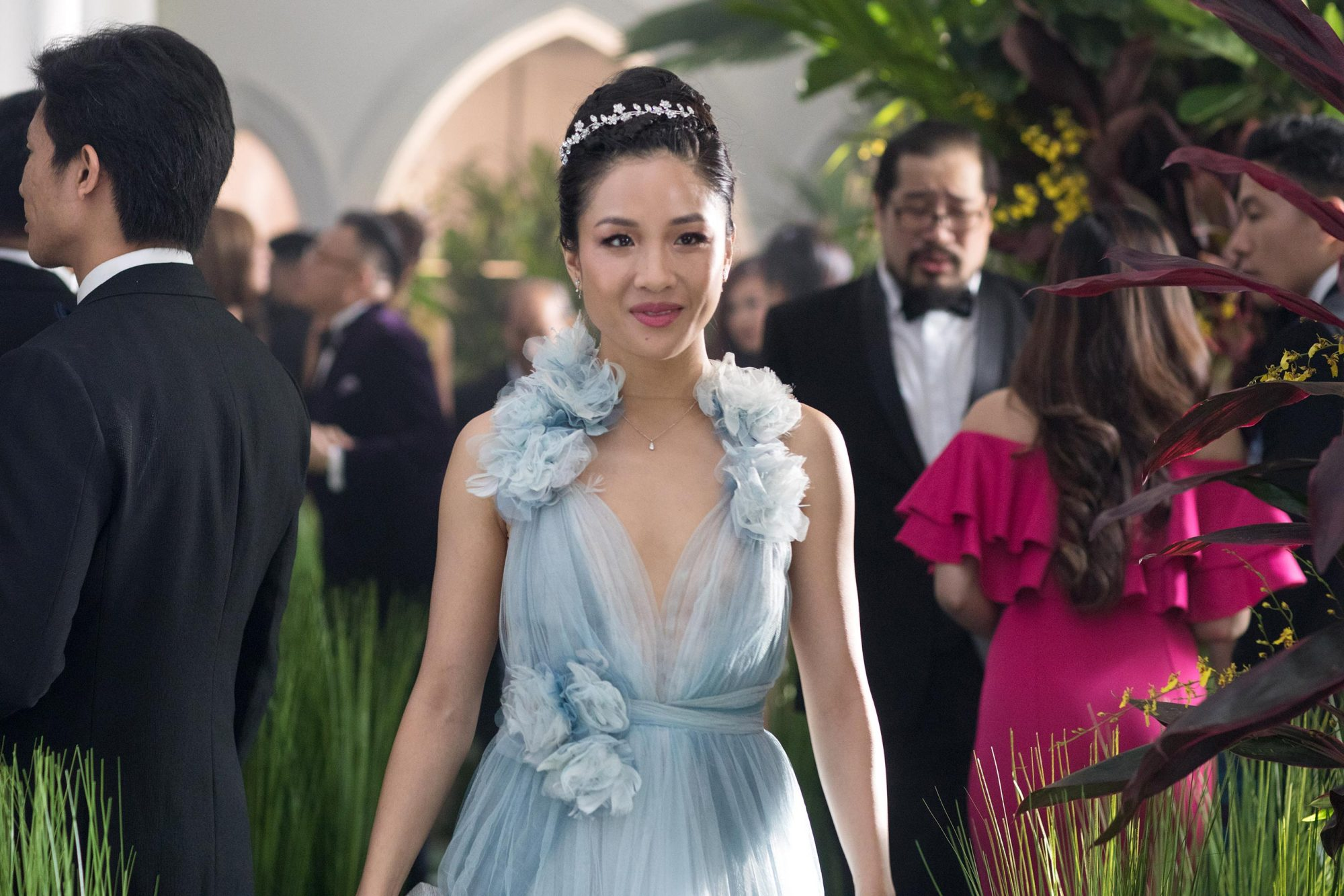 Rachel (Constance Wu) in Crazy Rich Asians (2018)