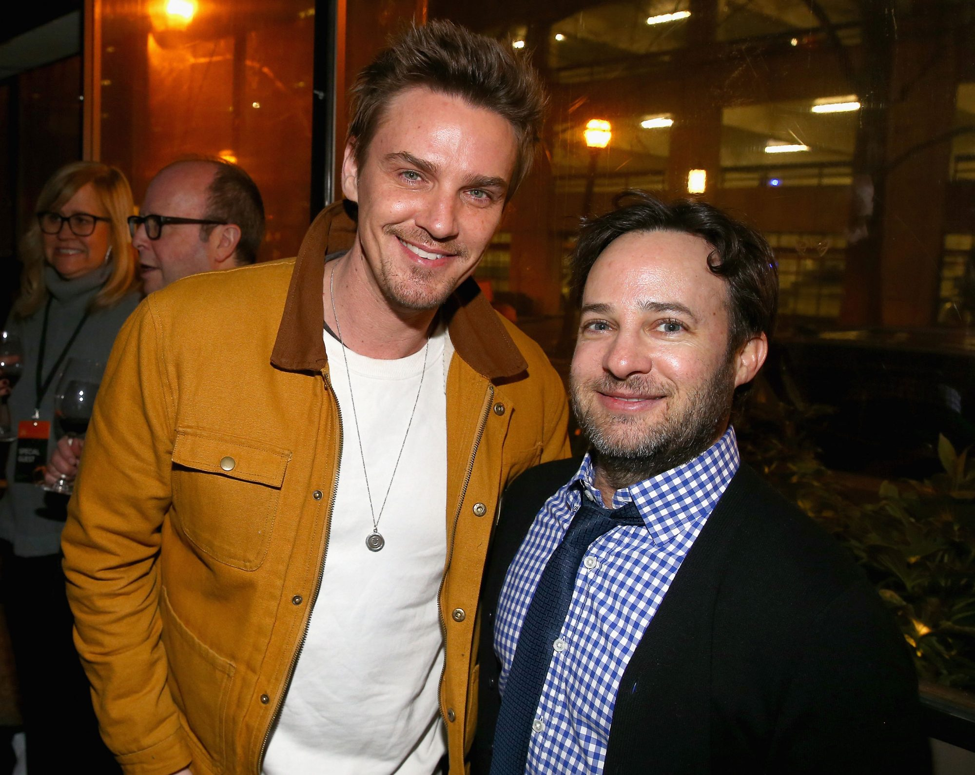 Proven Innocent star Riley Smith and executive producer Danny Strong at the SCAD aTVfest and Entertainment Weekly party at Lure