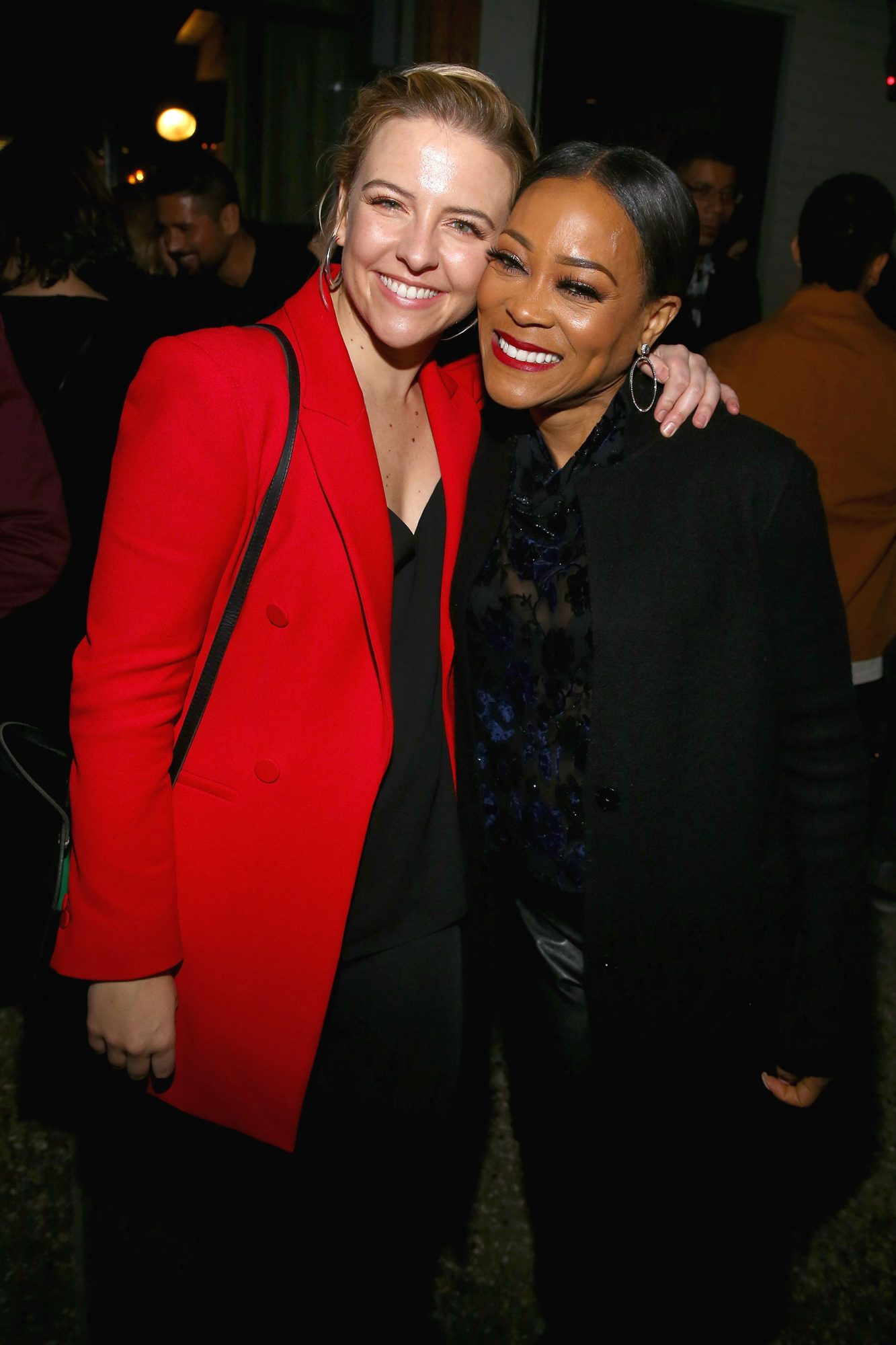 Heléne Yorke (The Other Two) and Robin Givens (Riverdale) at the SCAD aTVfest and Entertainment Weekly party at Lure