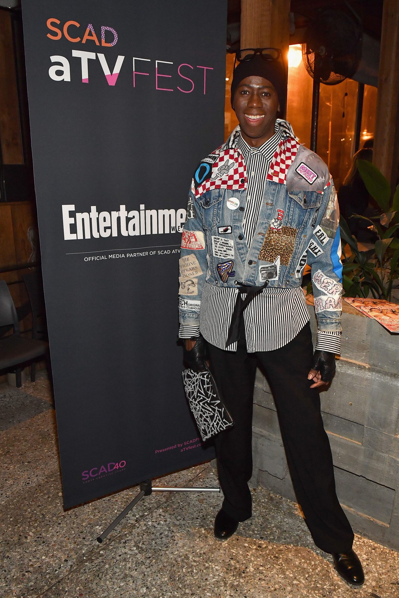 J. Alexander at the SCAD aTVfest and Entertainment Weekly party at Lure