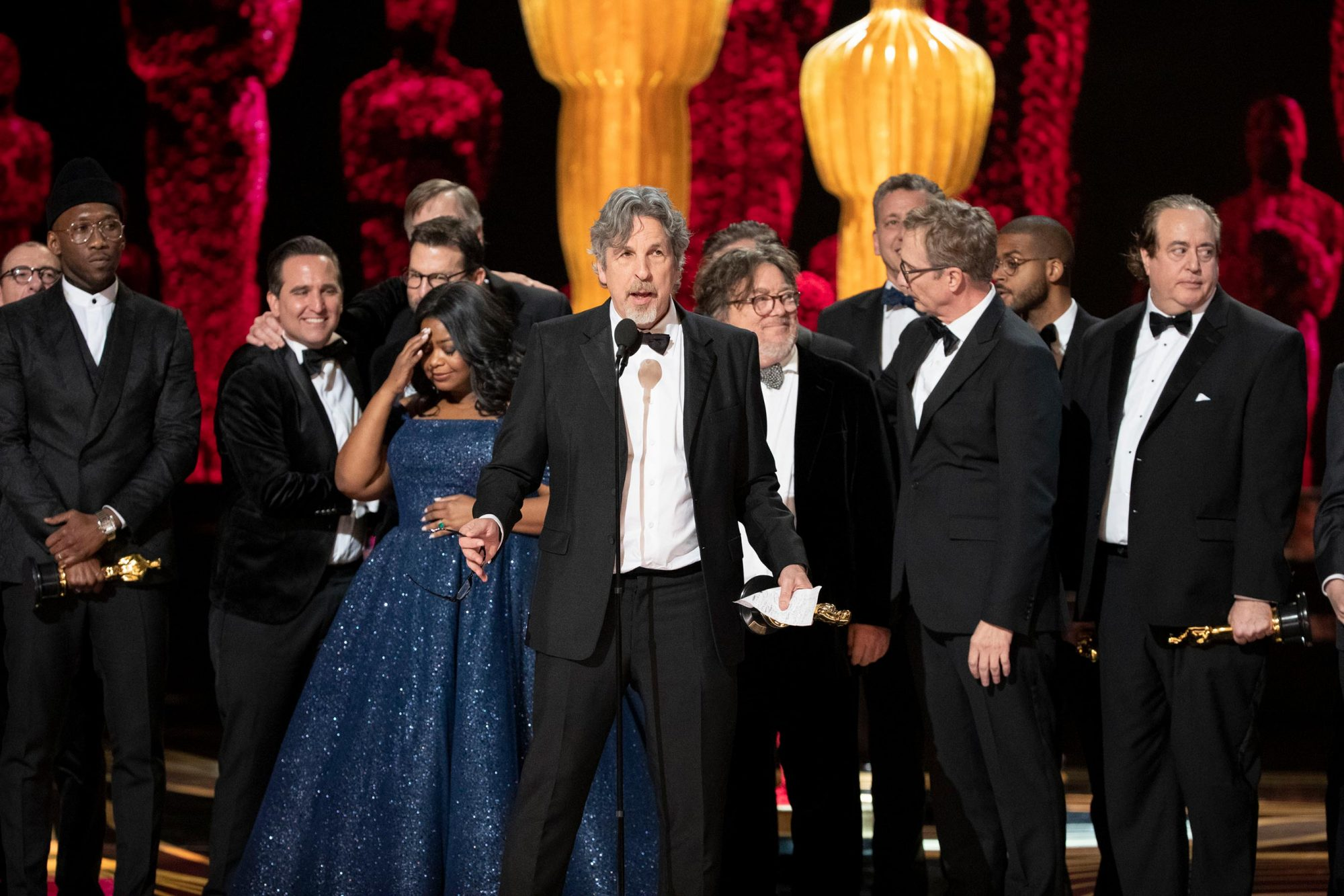 CAST AND EXECUTIVE PRODUCERS OF THE GREEN BOOK