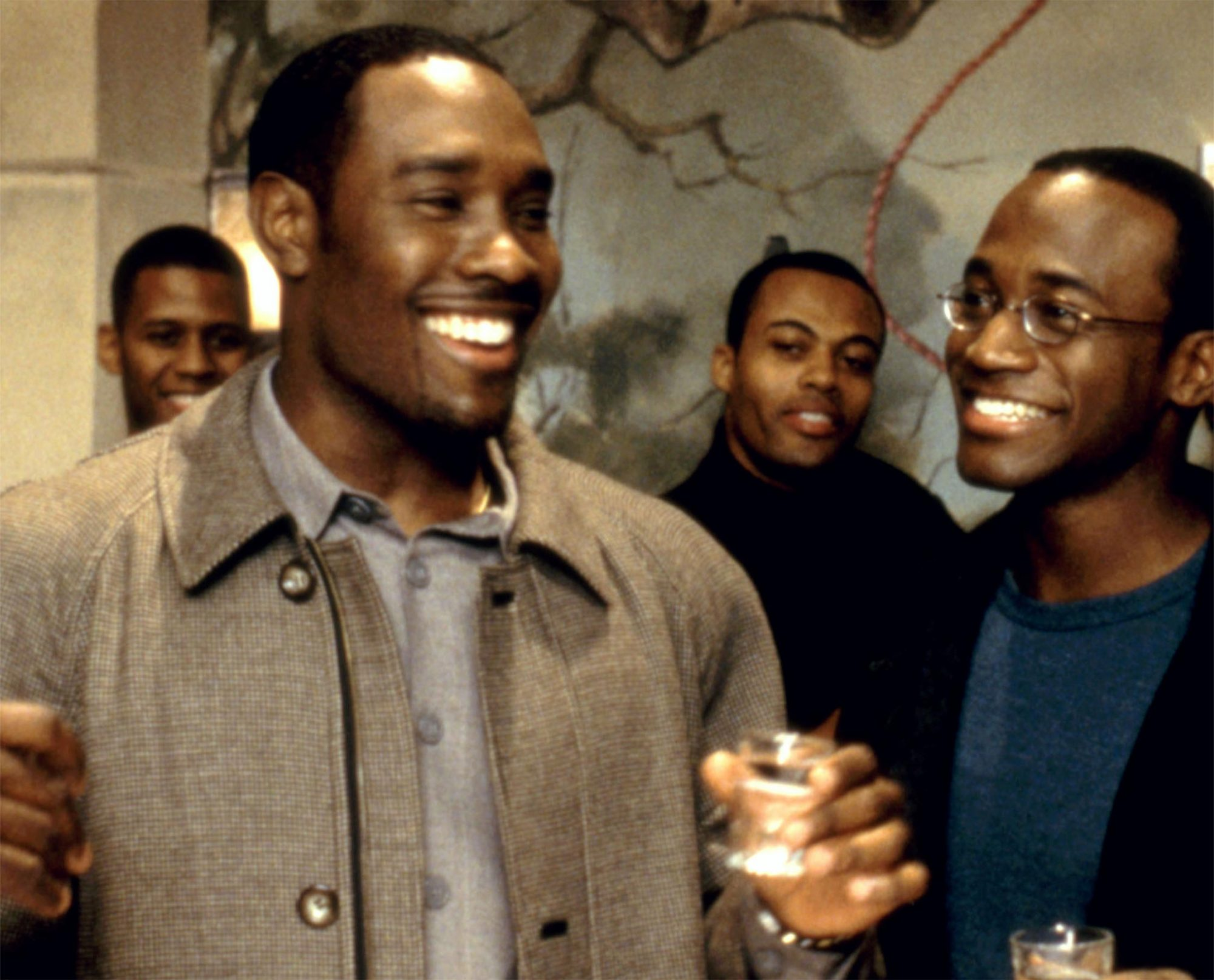 THE BEST MAN, Morris Chestnut, Taye Diggs, 1999, (c)Universal/courtesy Everett Collection