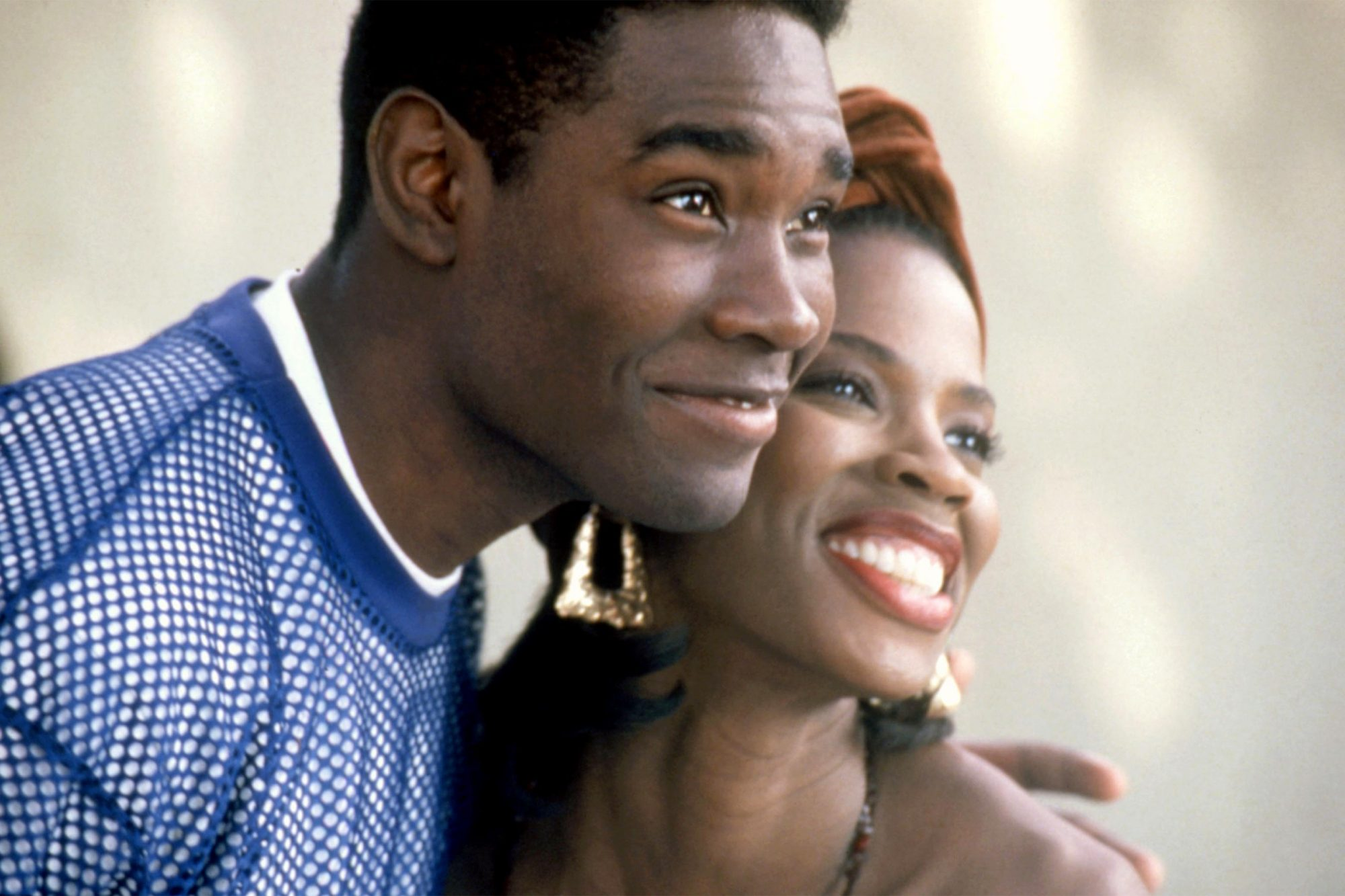 BOYZ N THE HOOD, Morris Chestnut, Tyra Ferrell, 1991. (c)Columbia Pictures/courtesy Everett Collection