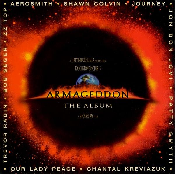 ArmageddonMovie Soundtrack Album Cover