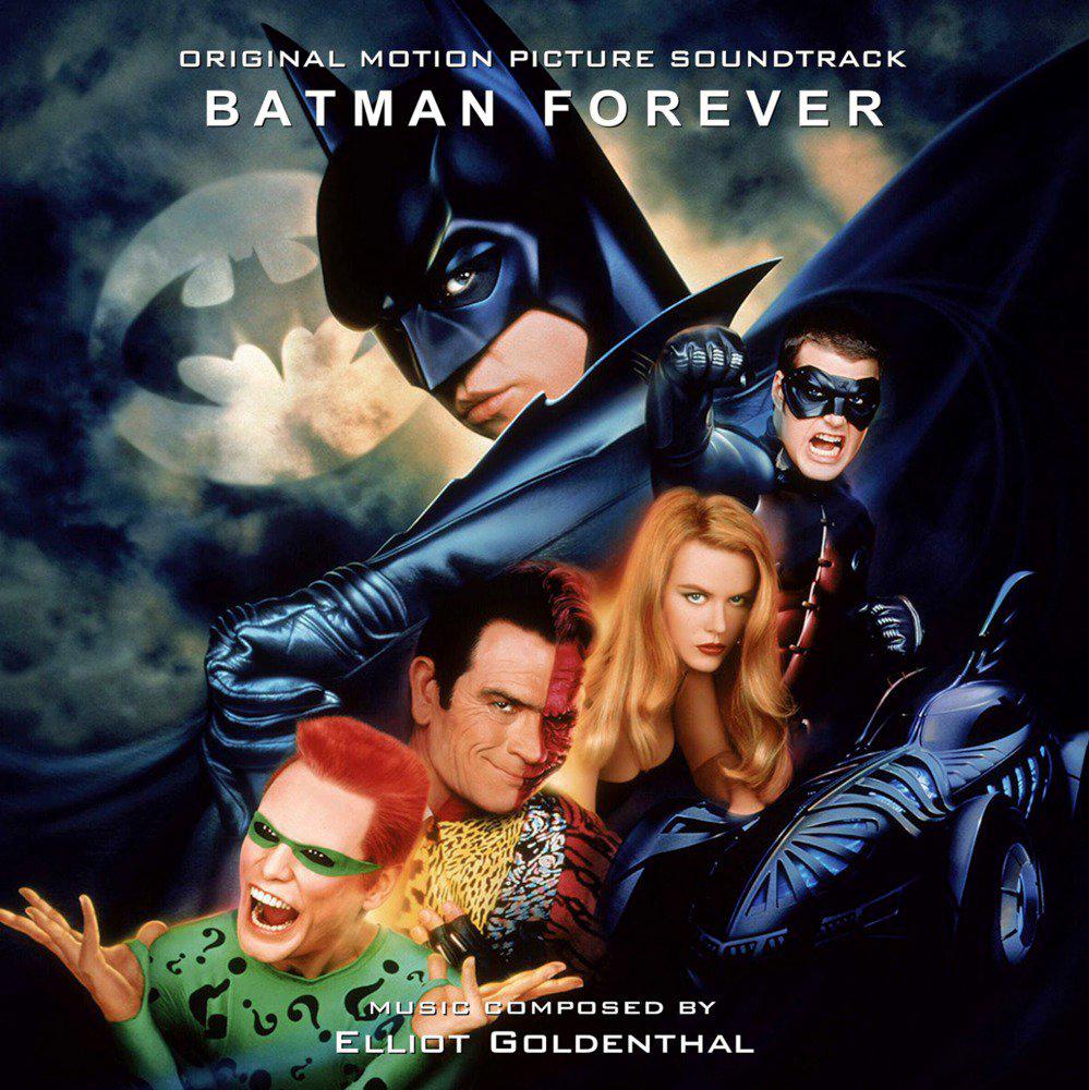 Batman ForeverMovie Soundtrack Album Cover