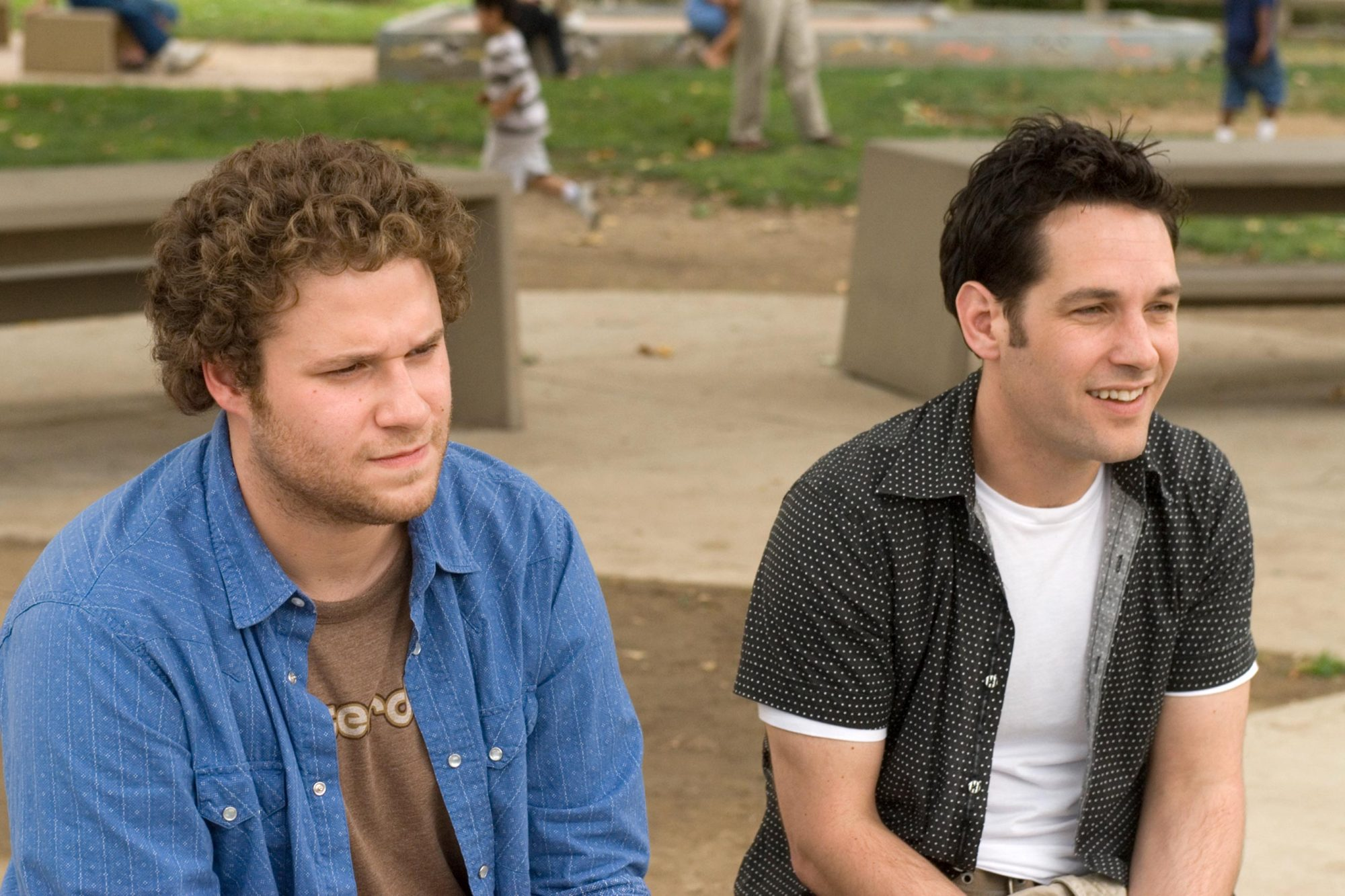 Knocked Up (2007)Seth Rogen (L) and Paul RuddSuzanne Hanover/Universal