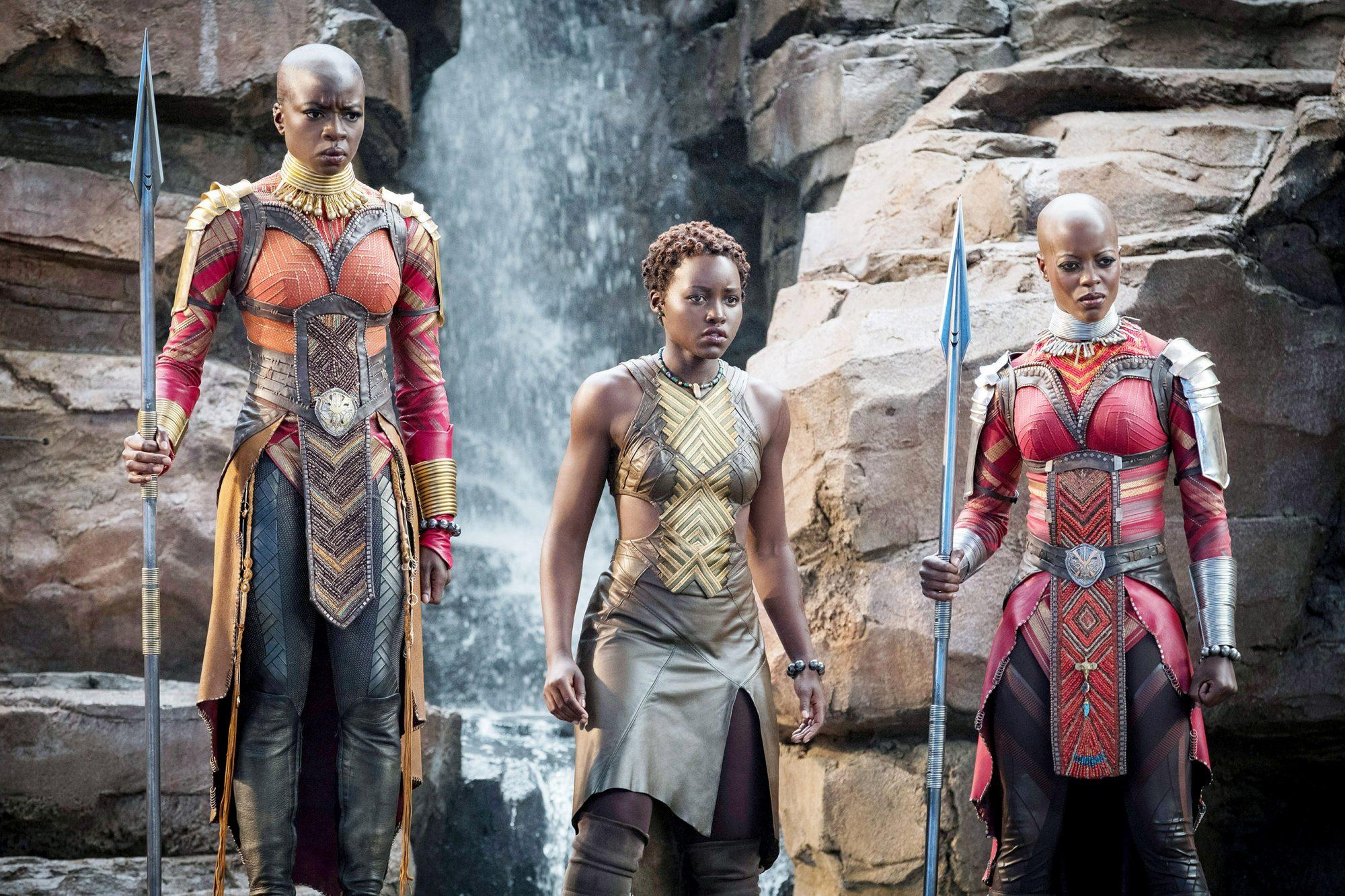 The Dora Milaje of Black Panther(2018)