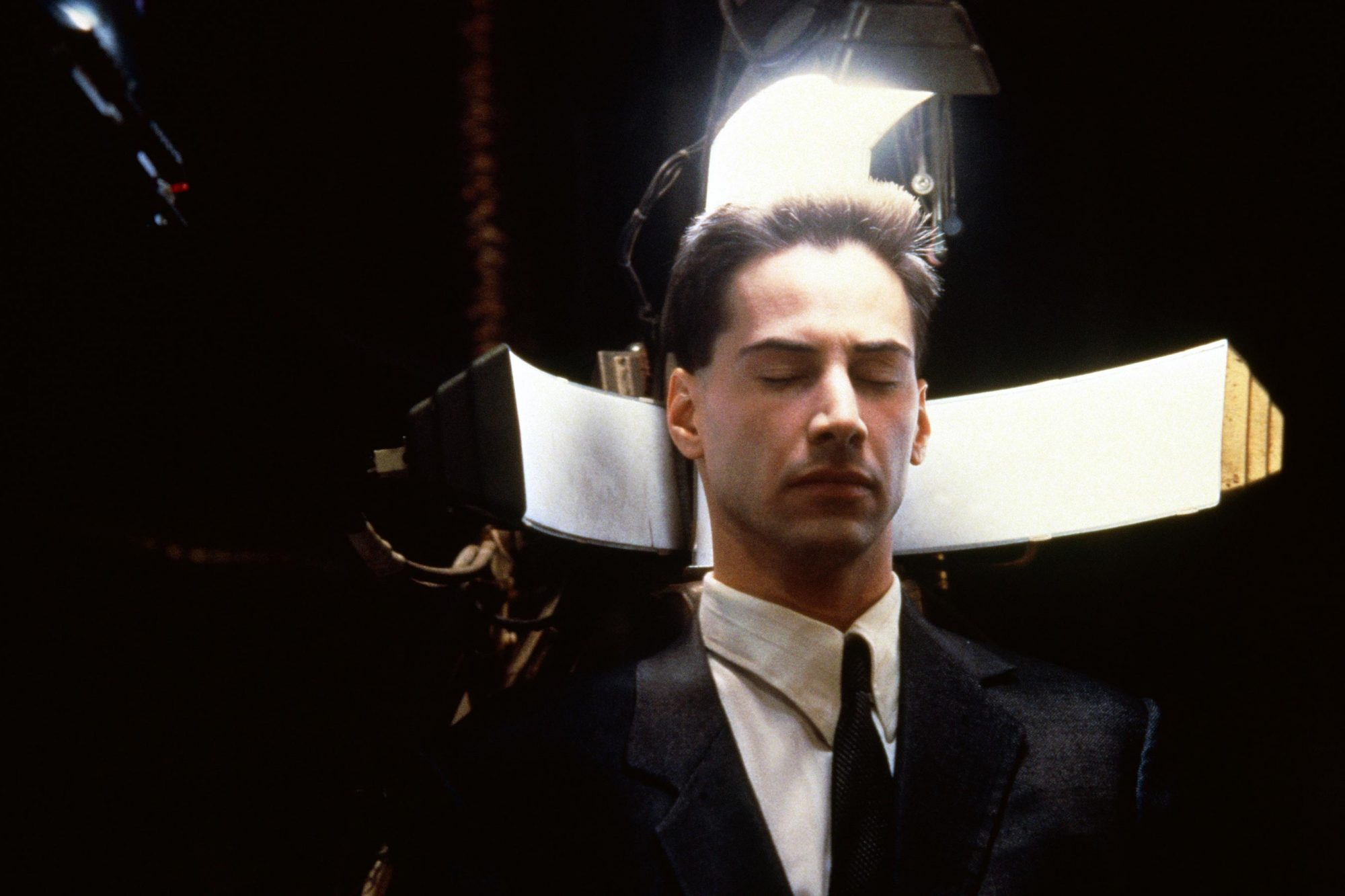 JOHNNY MNEMONIC, Keanu Reeves, 1995, (c) TriStar/courtesy Everett collection