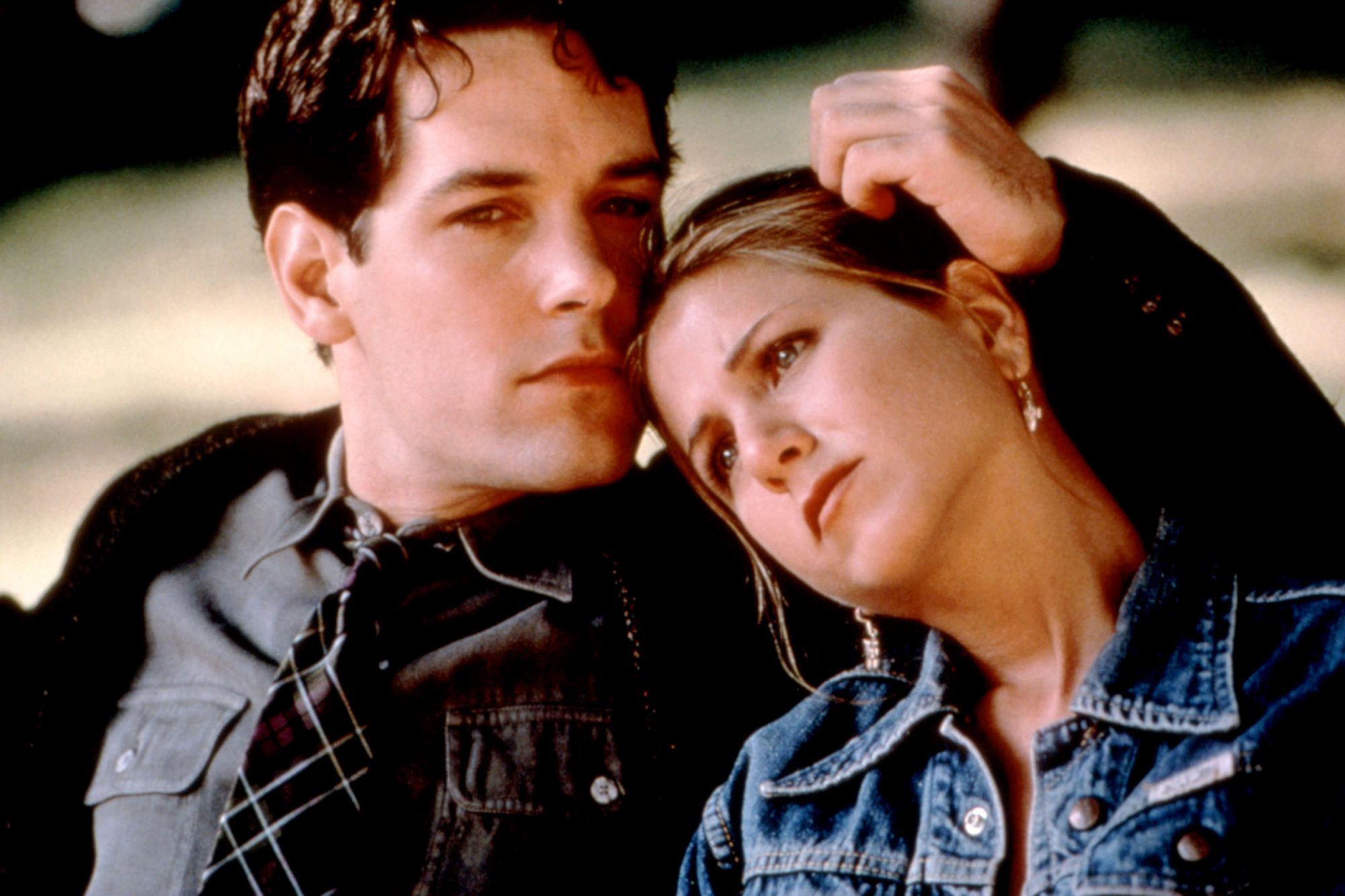 THE OBJECT OF MY AFFECTION, Paul Rudd, Jennifer Aniston, 1998, TM and Copyright (c)20th Century Fox